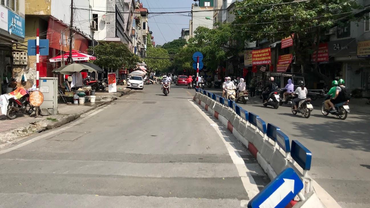 Nút giao thông dễ bị phạt ở Hà Nội: Phương tiện lưu thông qua Ngã bảy Ô Chợ Dừa cần lưu ý gì? - Ảnh 3.