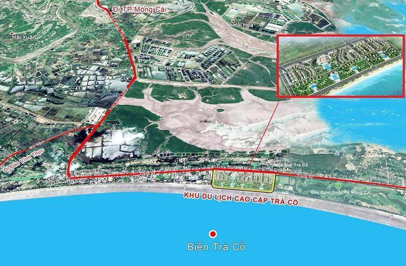 BIDV rao bán khoản nợ 206 tỉ đồng của chủ đầu tư dự án Khu đô thị cao cấp Trà Cổ - Ảnh 1.