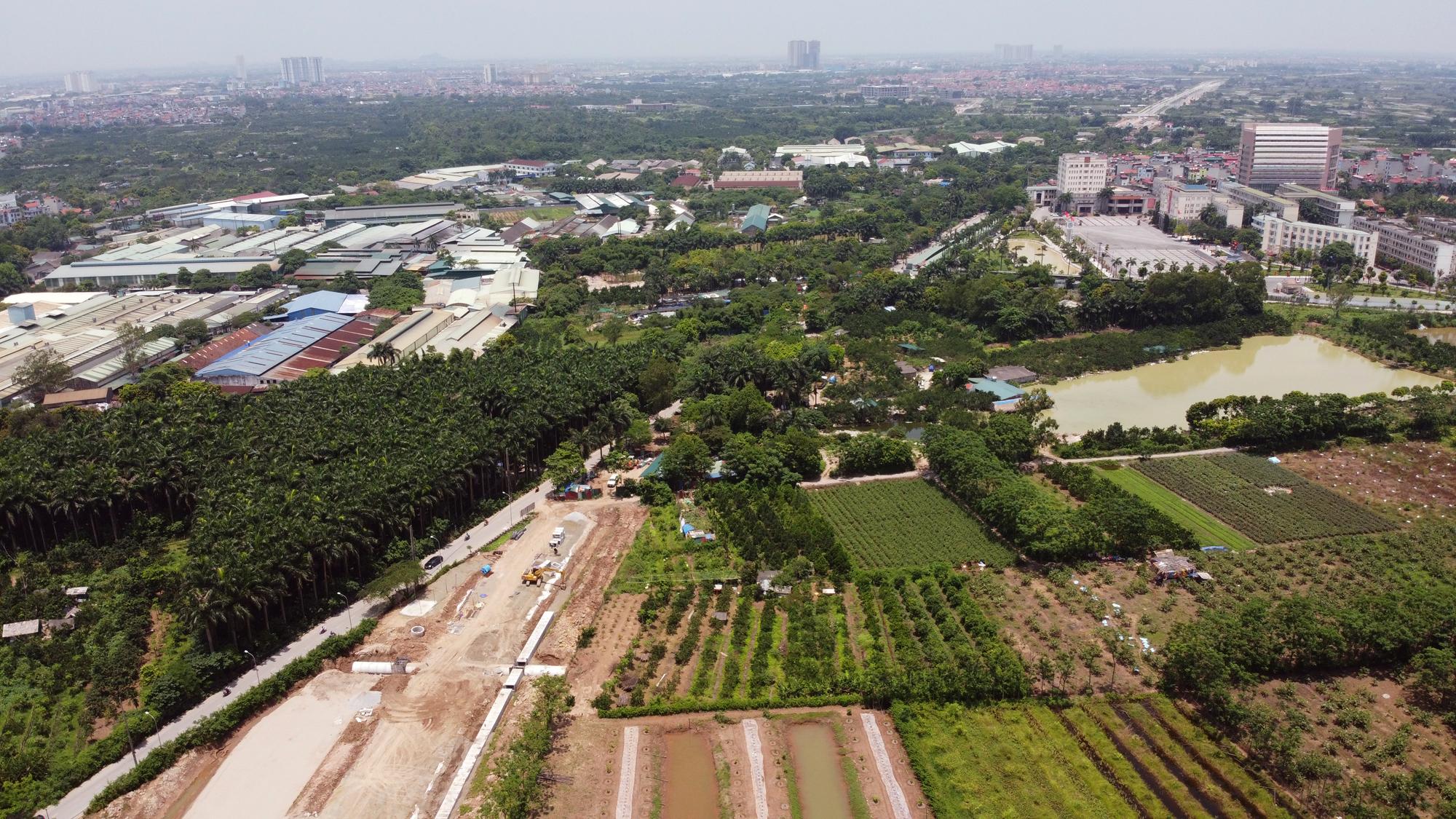 Soi tiến độ đường Tây Thăng Long từ Phạm Văn Đồng đến Văn Tiến Dũng - Ảnh 10.