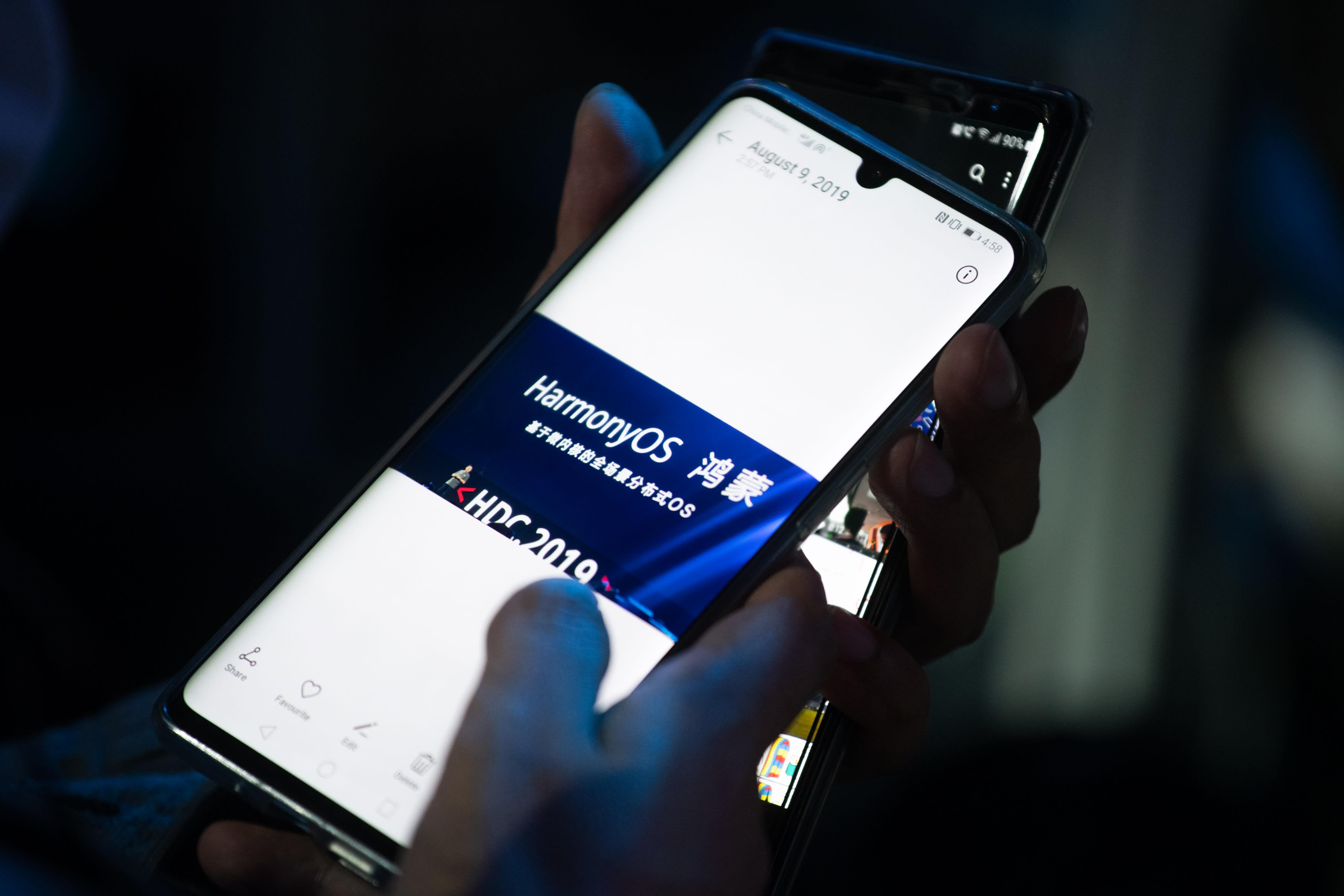 Huawei khẳng định hệ điều hành của họ có thể cạnh tranh với Google và Apple - Ảnh 1.