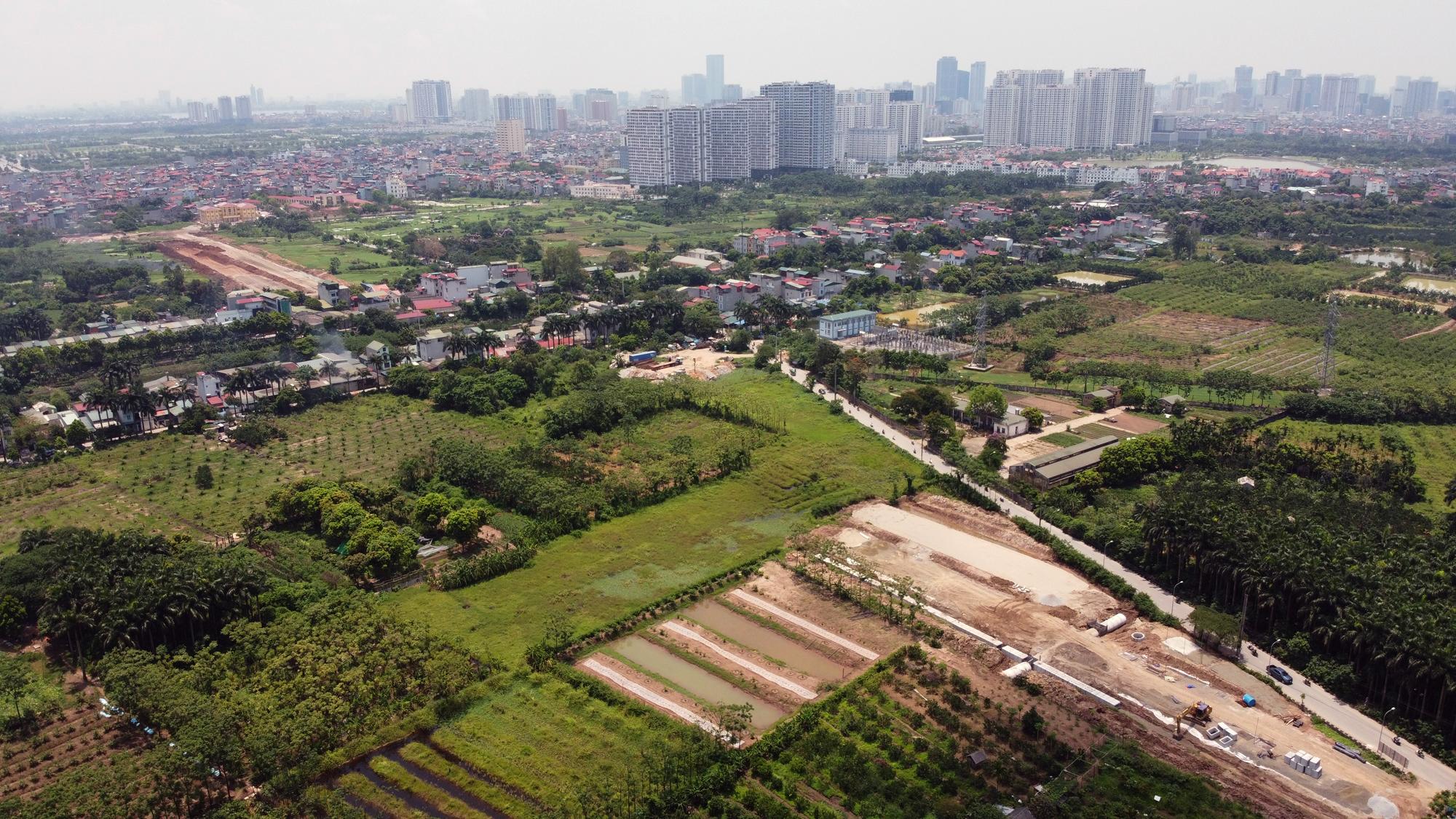 Soi tiến độ đường Tây Thăng Long từ Phạm Văn Đồng đến Văn Tiến Dũng - Ảnh 11.