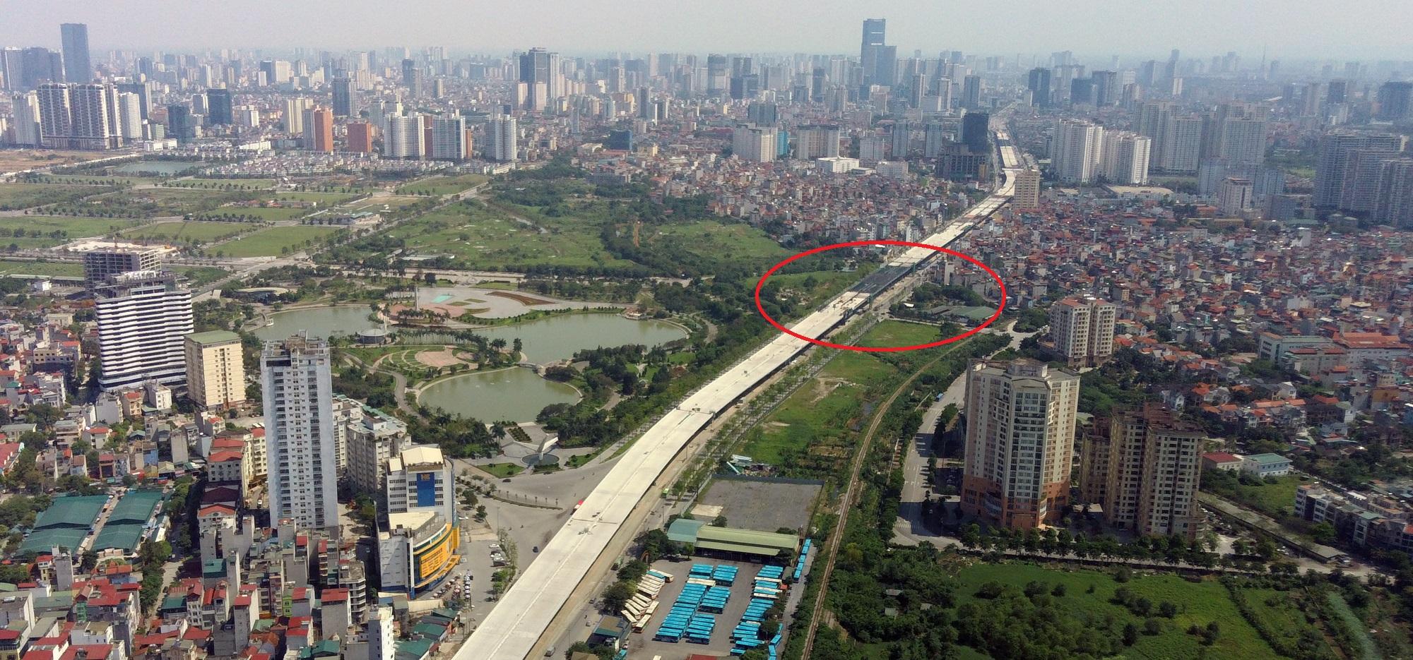 Soi tiến độ đường Tây Thăng Long từ Phạm Văn Đồng đến Văn Tiến Dũng - Ảnh 14.