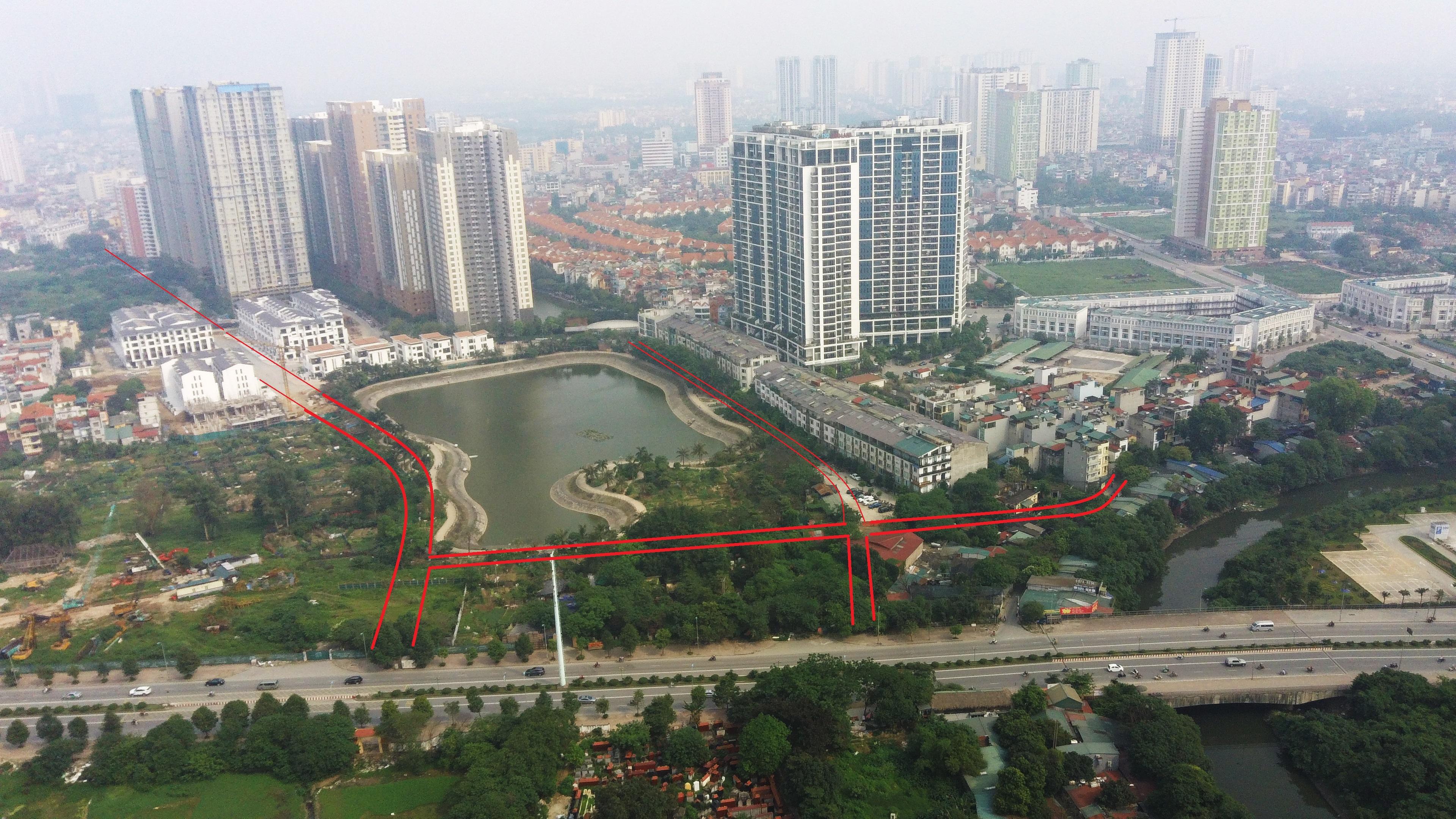 Qui hoạch sẽ 'đưa' hàng loạt chung cư ra đường lớn ở phường Trung Văn - Ảnh 9.