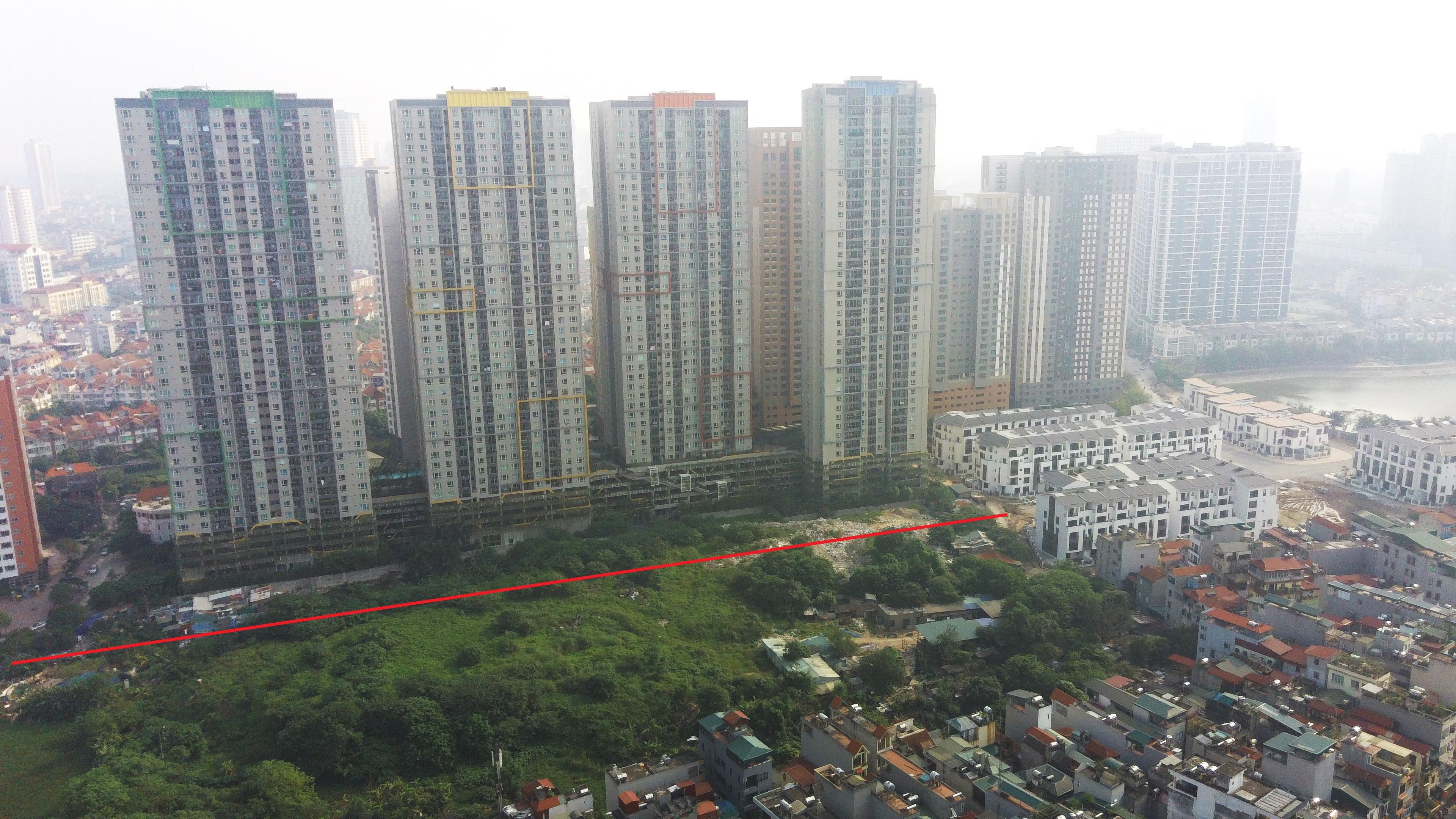 Qui hoạch sẽ 'đưa' hàng loạt chung cư ra đường lớn ở phường Trung Văn - Ảnh 7.