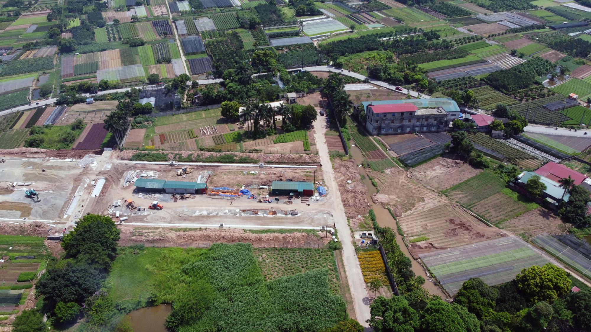 Soi tiến độ đường Tây Thăng Long từ Phạm Văn Đồng đến Văn Tiến Dũng - Ảnh 5.