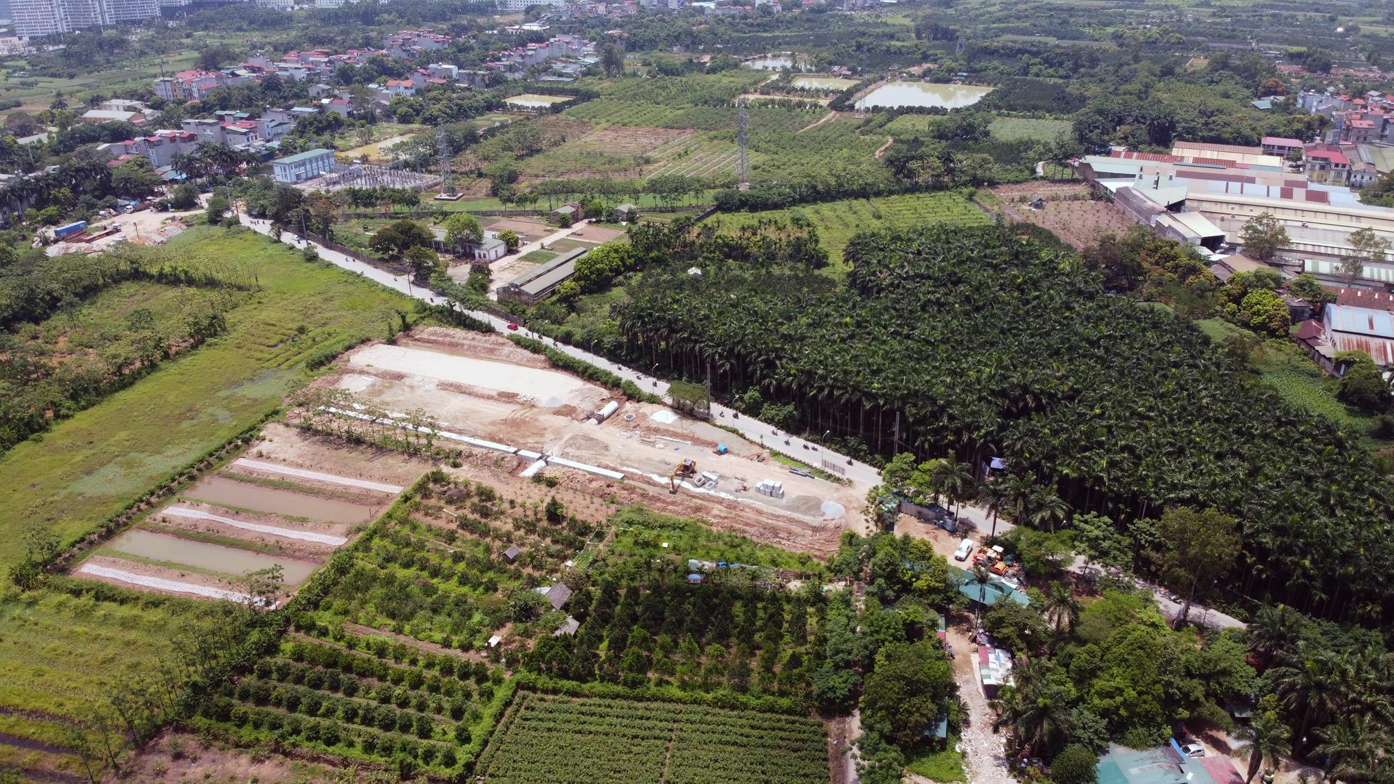 Soi tiến độ đường Tây Thăng Long từ Phạm Văn Đồng đến Văn Tiến Dũng - Ảnh 7.