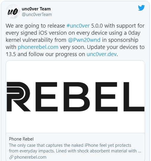 iOS 13.5 vừa phát hành đã sắp có công cụ jailbreak - Ảnh 2.