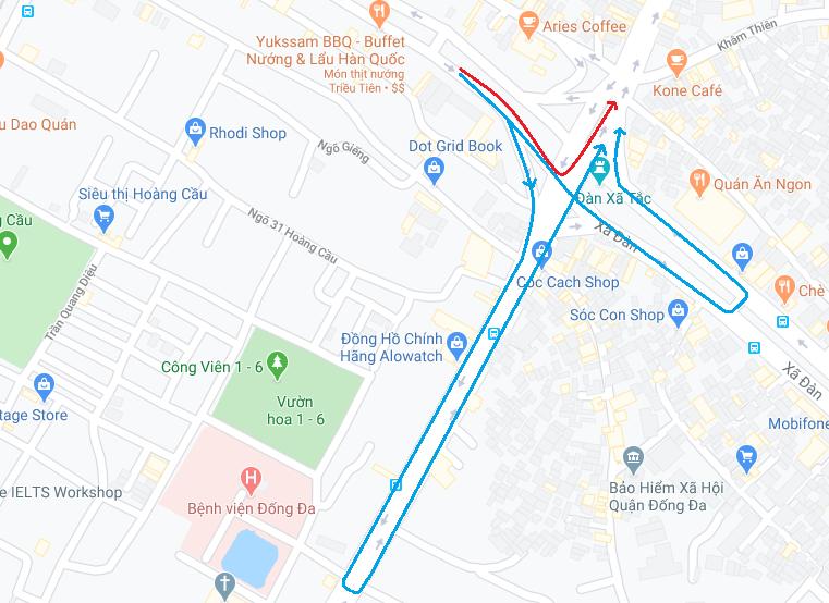Nút giao thông dễ bị phạt ở Hà Nội: Giải mã 'ma trận' Ngã bảy Ô Chợ Dừa - Ảnh 6.