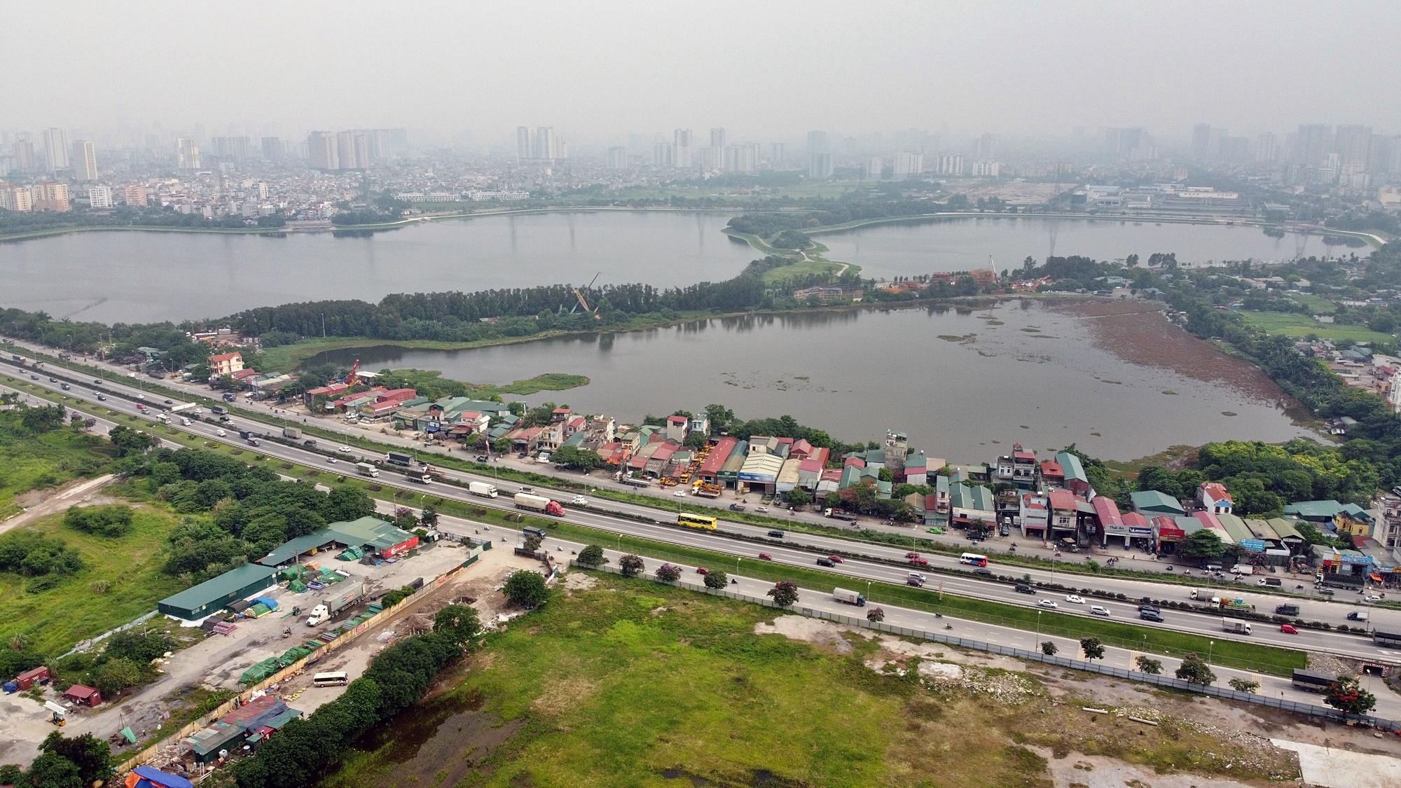 Toàn cảnh nơi xây dựng Khu đô thị ven hồ Yên Sở hơn 190ha - Ảnh 2.