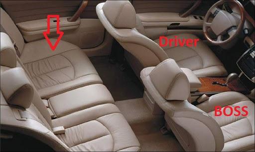Giao tiếp khéo léo trong việc chọn vị trí ngồi trên xe ô tô khi đi cùng sếp - Ảnh 3.