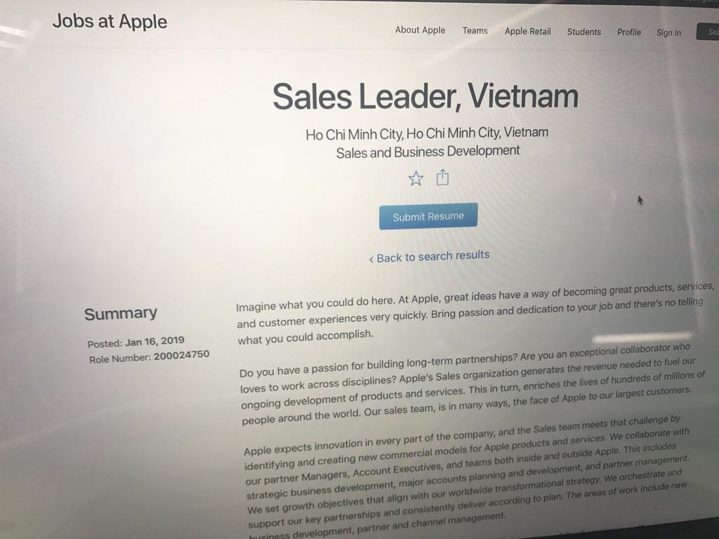 Dấu hiệu Apple sắp mở nhà máy iPhone ở Việt Nam - Ảnh 3.