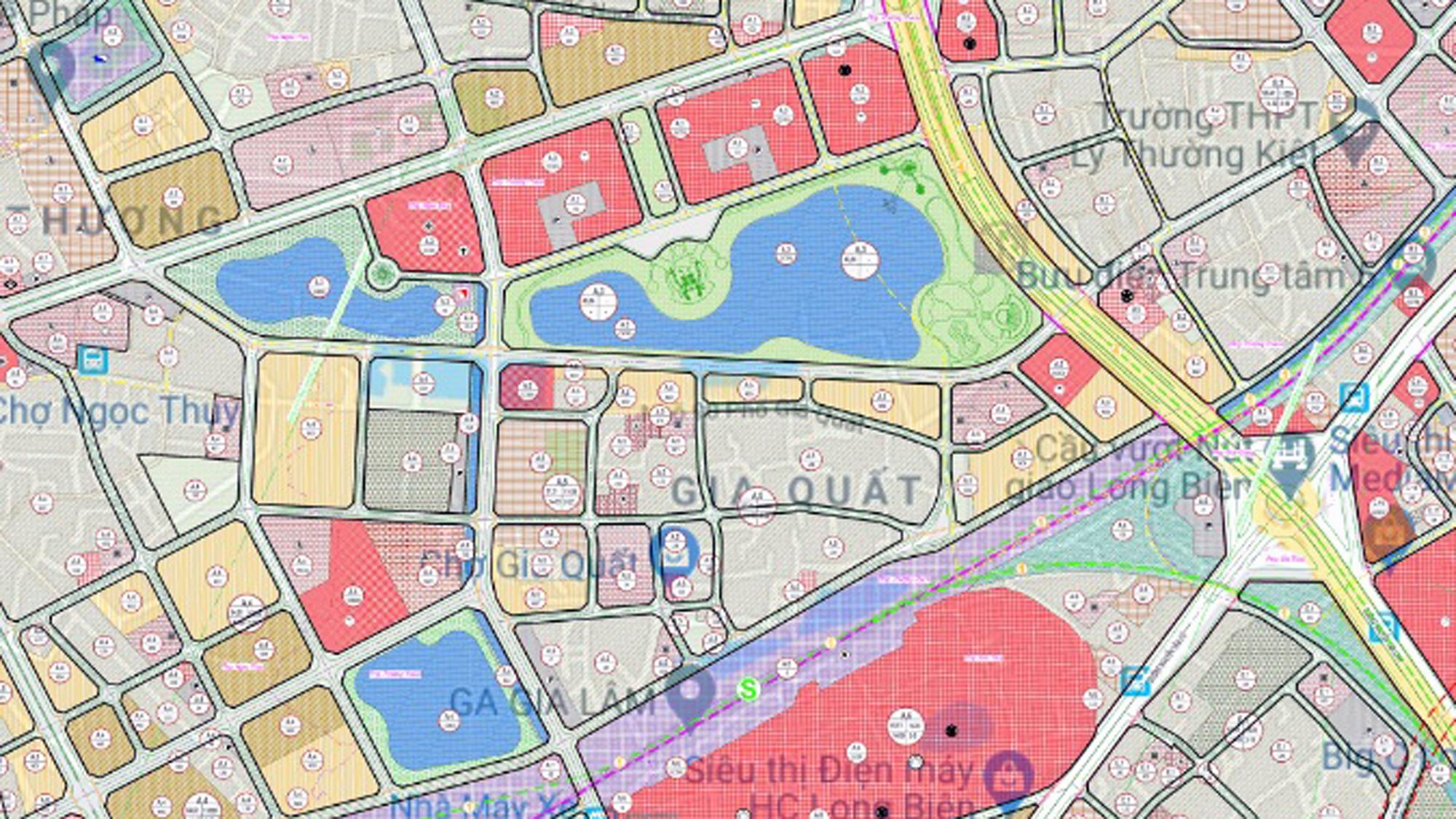 Những dự án chung cư gần các khu đất sẽ đào hồ lớn ở quận Long Biên - Ảnh 7.