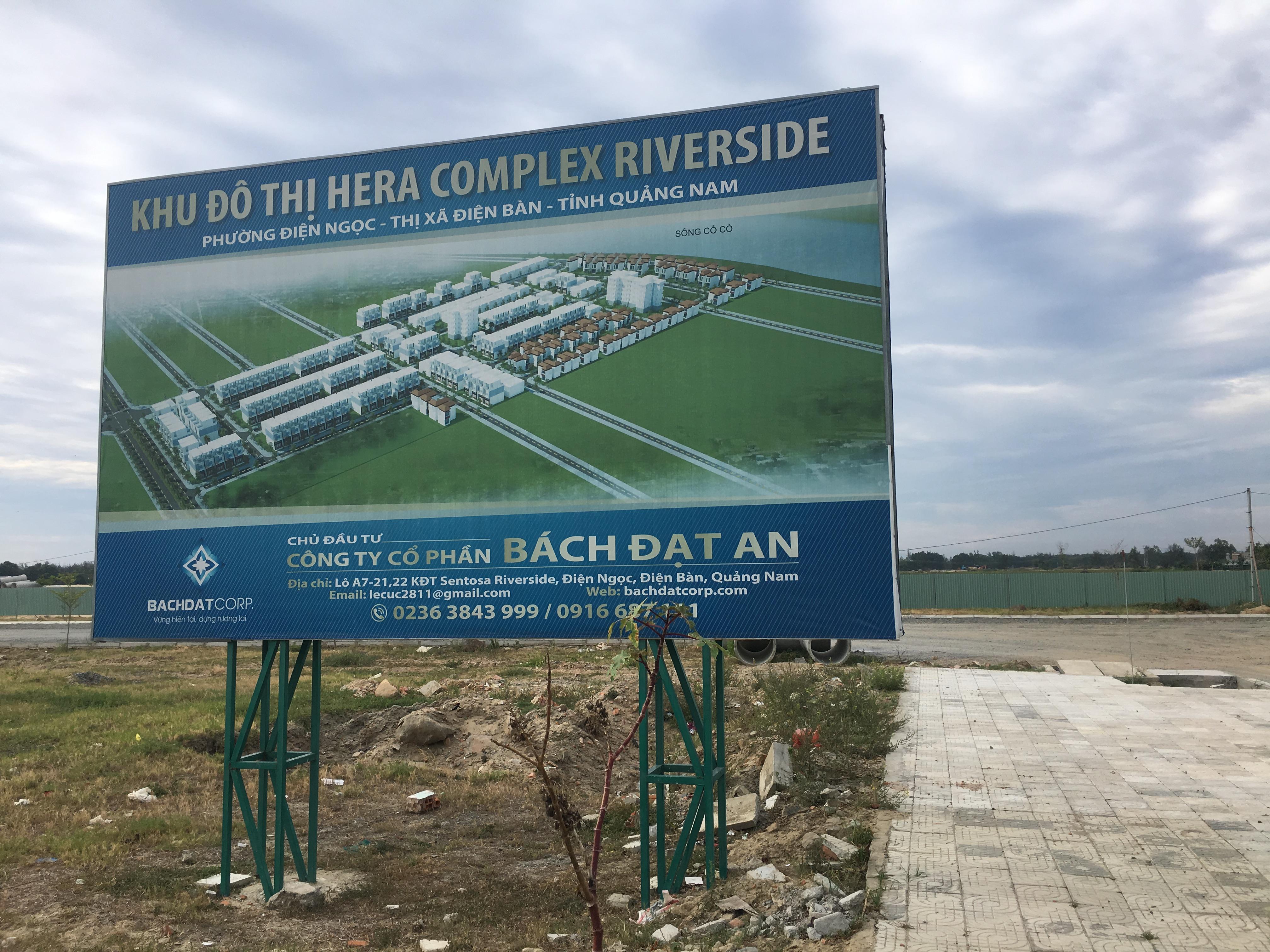 Quảng Nam 'thúc' Công ty CP Bách Đạt An triển khai 8 dự án đất nền - Ảnh 1.
