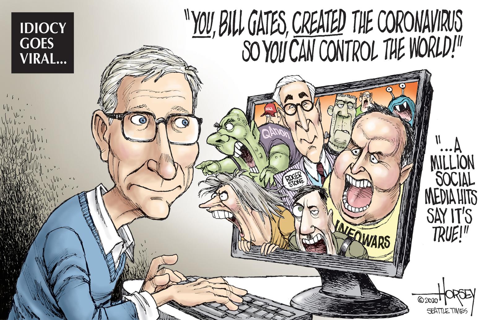 Bill Gates: Vị tỉ phú 'mất ngủ' về đại dịch Covid-19 - Ảnh 9.
