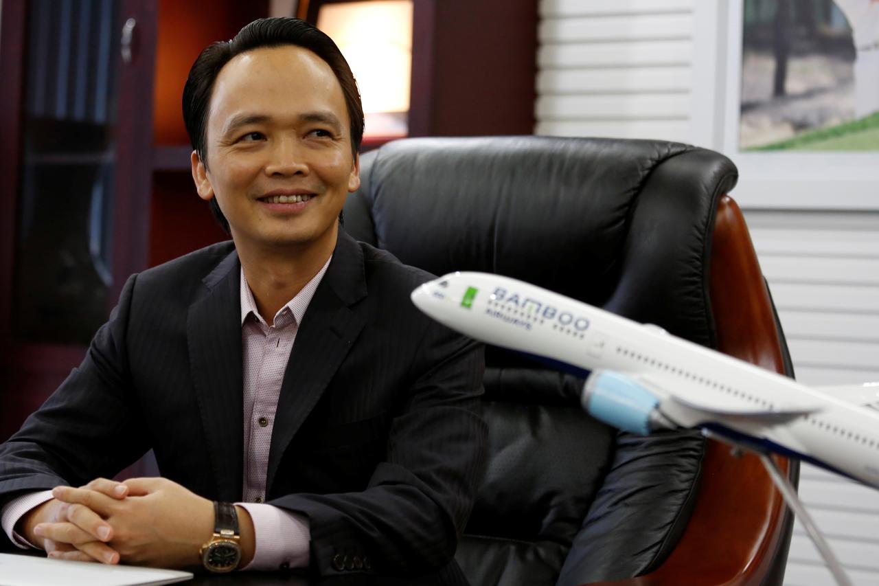 Hãng bay Bamboo Airways của ông Trịnh Văn Quyết nâng vốn điều lệ lên 7.000 tỉ đồng - Ảnh 1.