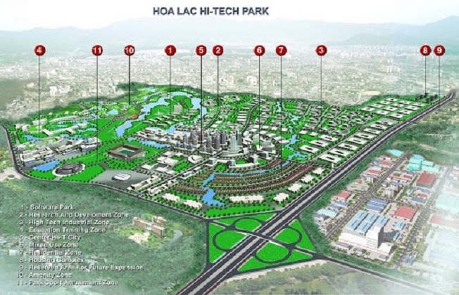Hà Nội sắp có siêu đô thị 600.000 dân ở Hòa Lạc - Ảnh 1.