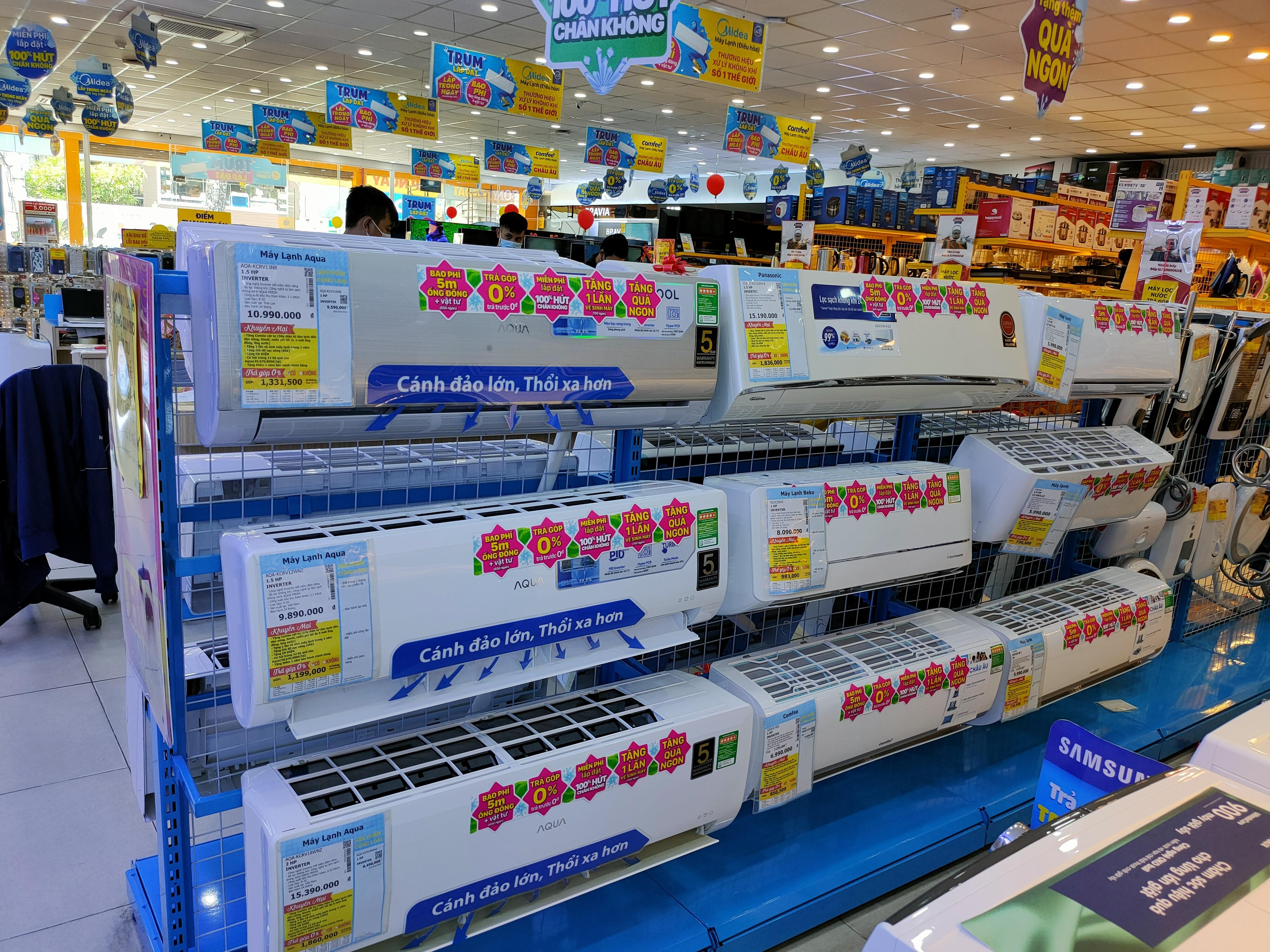 Những máy lạnh giảm giá nổi bật đầu tháng 6 - Ảnh 1.