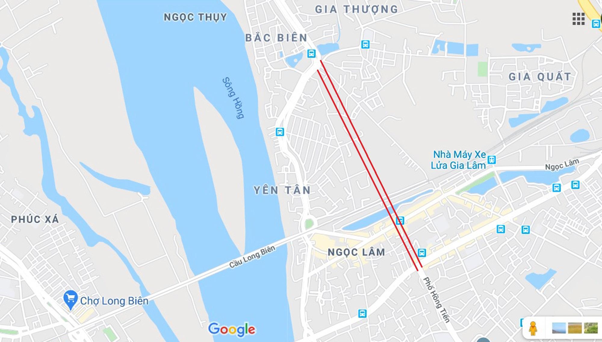 Đường ngàn tỉ nối Ngọc Thụy - Nguyễn Văn Cừ ở quận Long Biên mới làm được vài trăm mét - Ảnh 1.