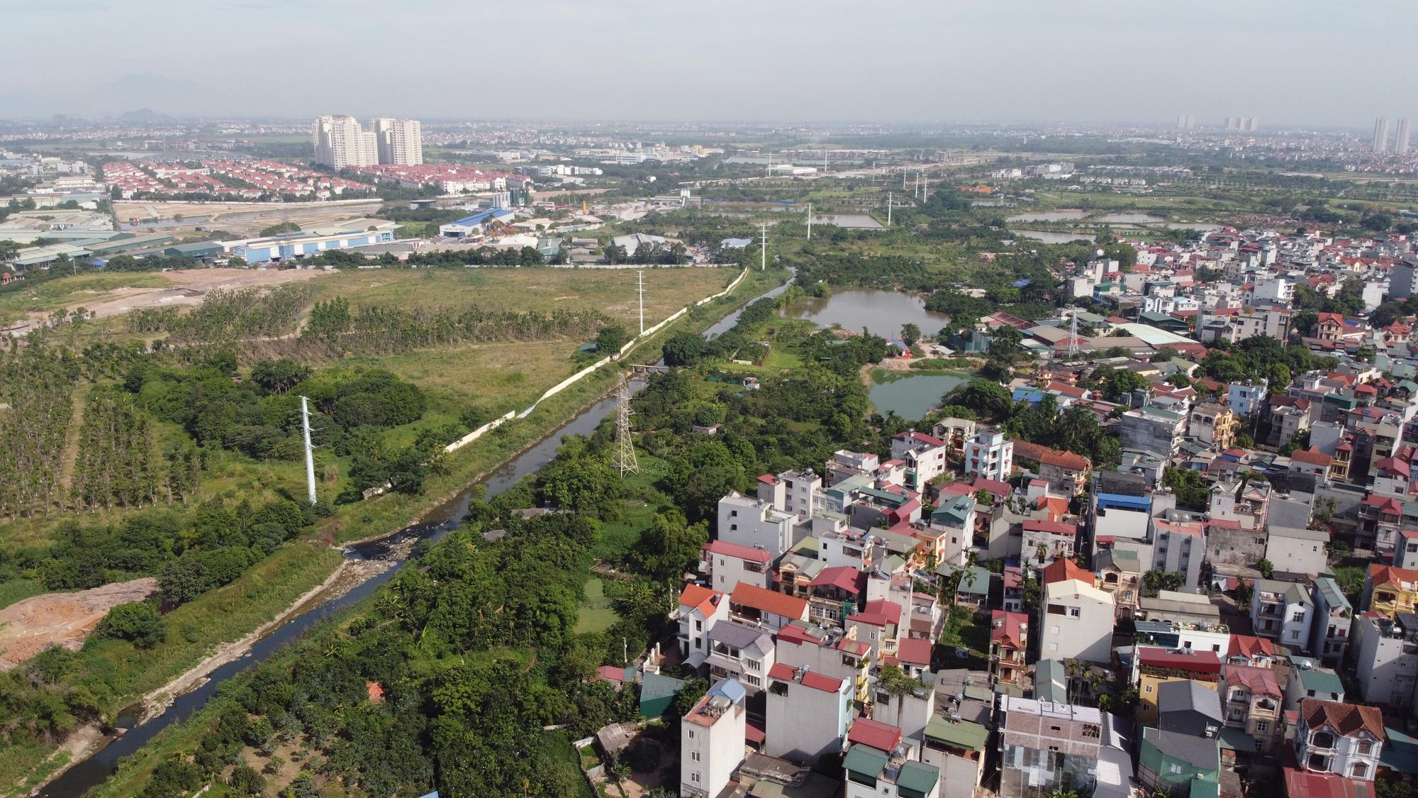 Toàn cảnh nơi xây dựng tuyến đường dài 3km trị giá gần 500 tỉ đồng ở quận Nam Từ Liêm - Ảnh 12.