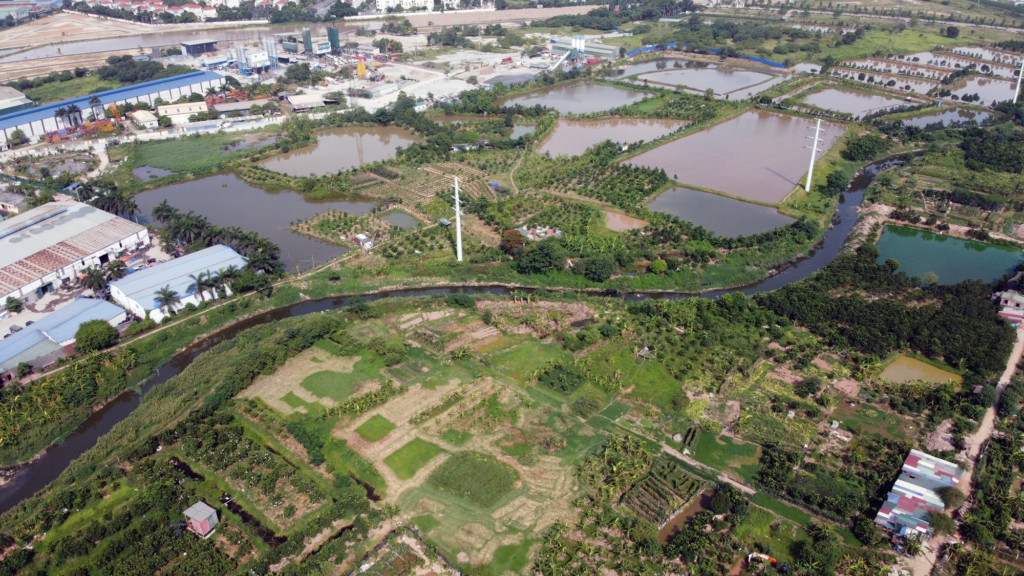 Toàn cảnh nơi xây dựng tuyến đường dài 3km trị giá gần 500 tỉ đồng ở quận Nam Từ Liêm - Ảnh 13.