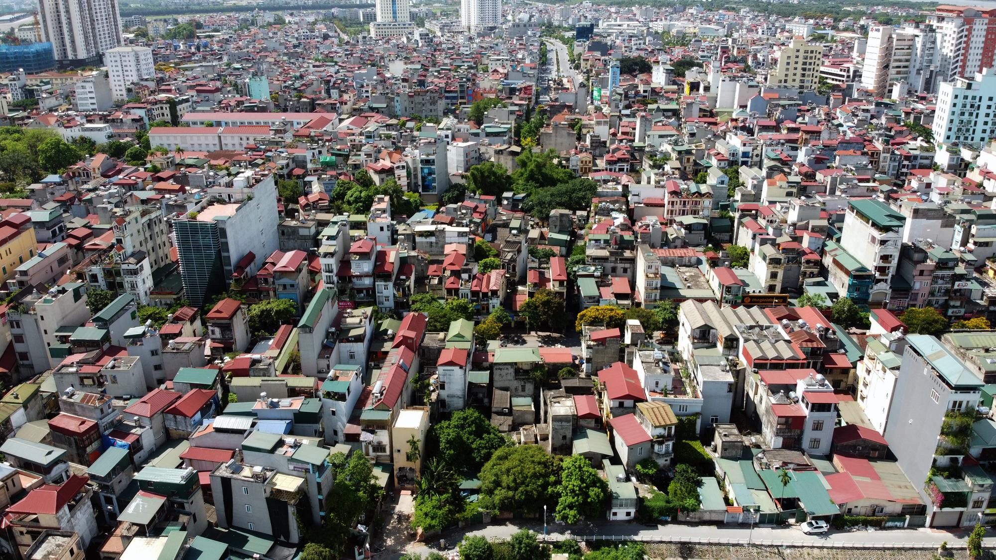Đường ngàn tỉ nối Ngọc Thụy - Nguyễn Văn Cừ ở quận Long Biên mới làm được vài trăm mét - Ảnh 13.