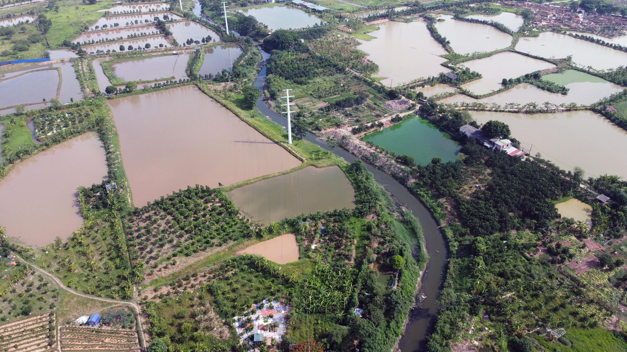 Toàn cảnh nơi xây dựng tuyến đường dài 3km trị giá gần 500 tỉ đồng ở quận Nam Từ Liêm - Ảnh 15.