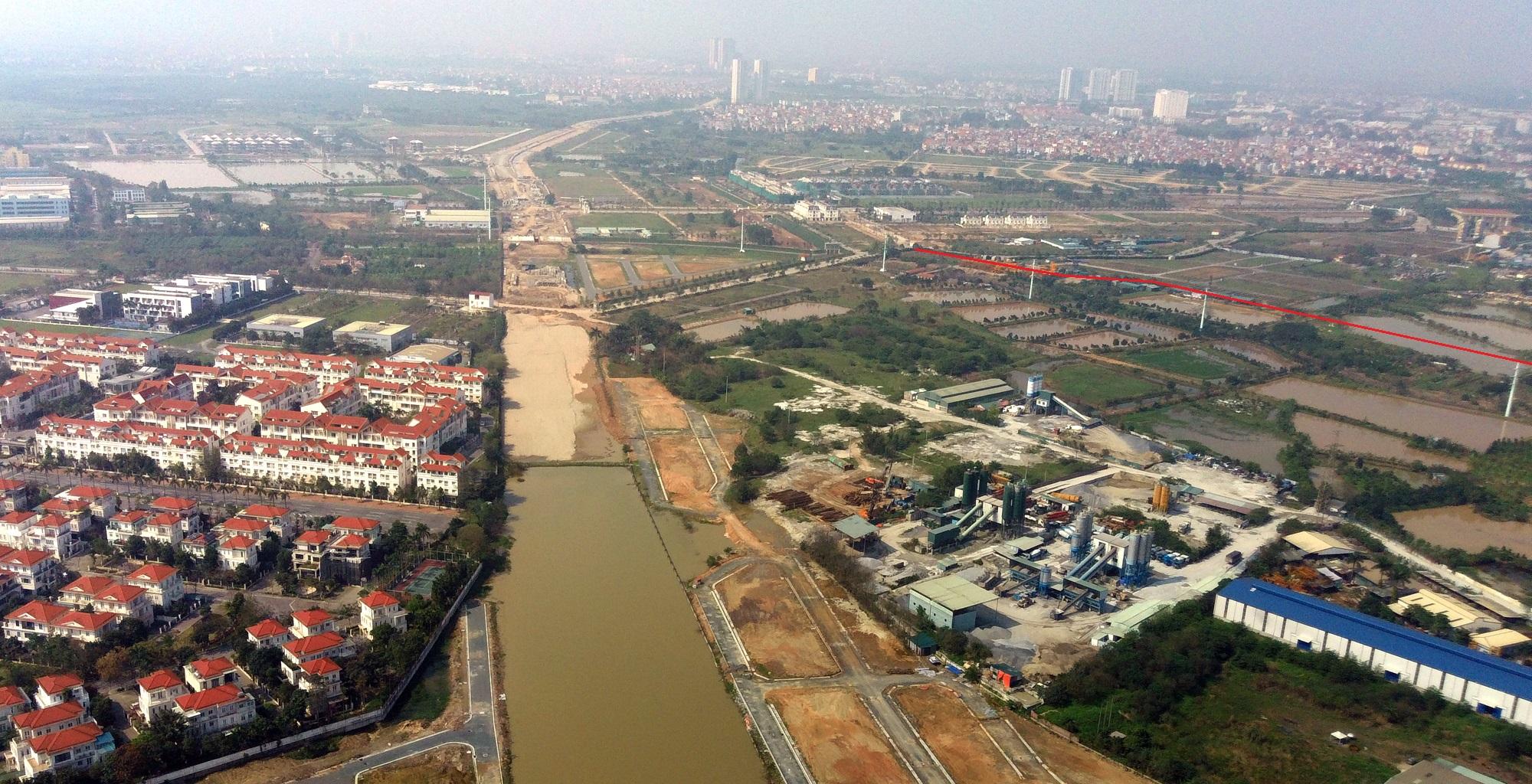Toàn cảnh nơi xây dựng tuyến đường dài 3km trị giá gần 500 tỉ đồng ở quận Nam Từ Liêm - Ảnh 18.