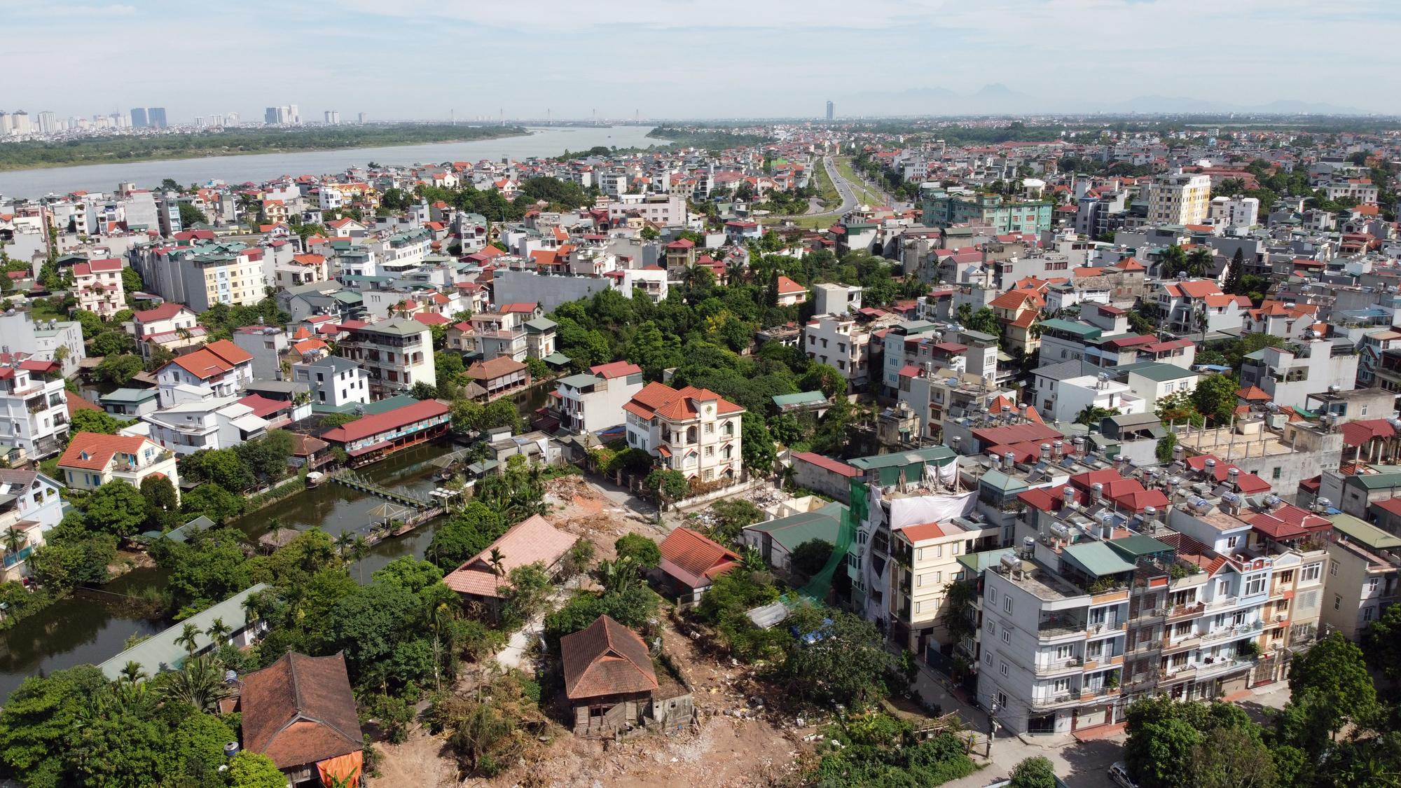 Đường ngàn tỉ nối Ngọc Thụy - Nguyễn Văn Cừ ở quận Long Biên mới làm được vài trăm mét - Ảnh 5.