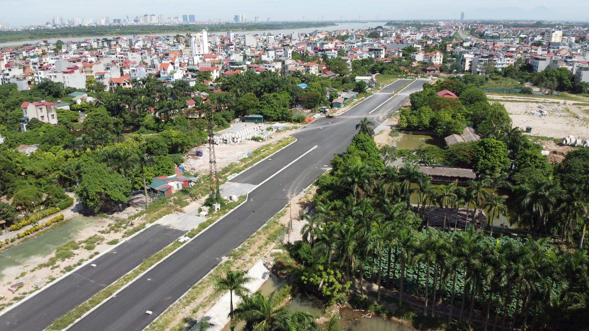 Đường ngàn tỉ nối Ngọc Thụy - Nguyễn Văn Cừ ở quận Long Biên mới làm được vài trăm mét - Ảnh 7.