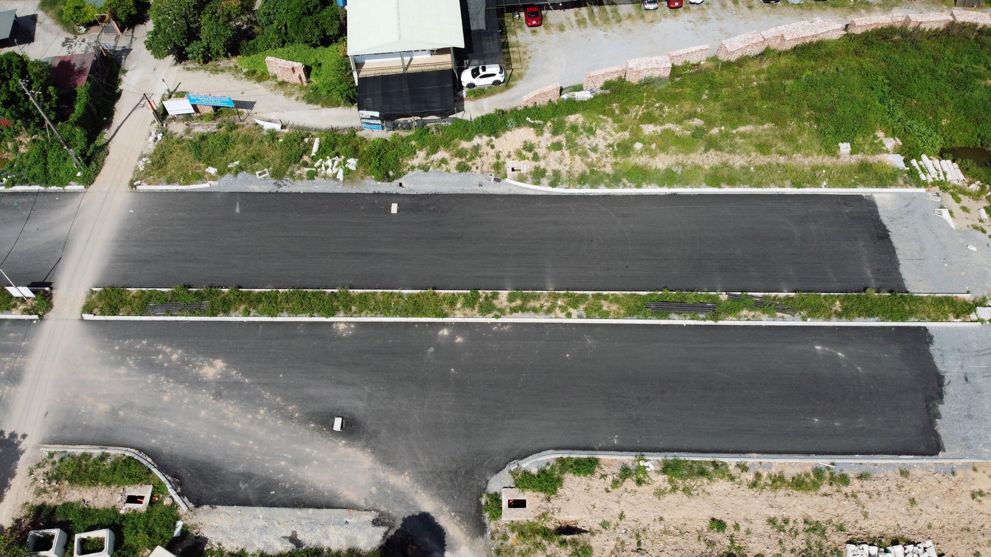 Đường ngàn tỉ nối Ngọc Thụy - Nguyễn Văn Cừ ở quận Long Biên mới làm được vài trăm mét - Ảnh 8.