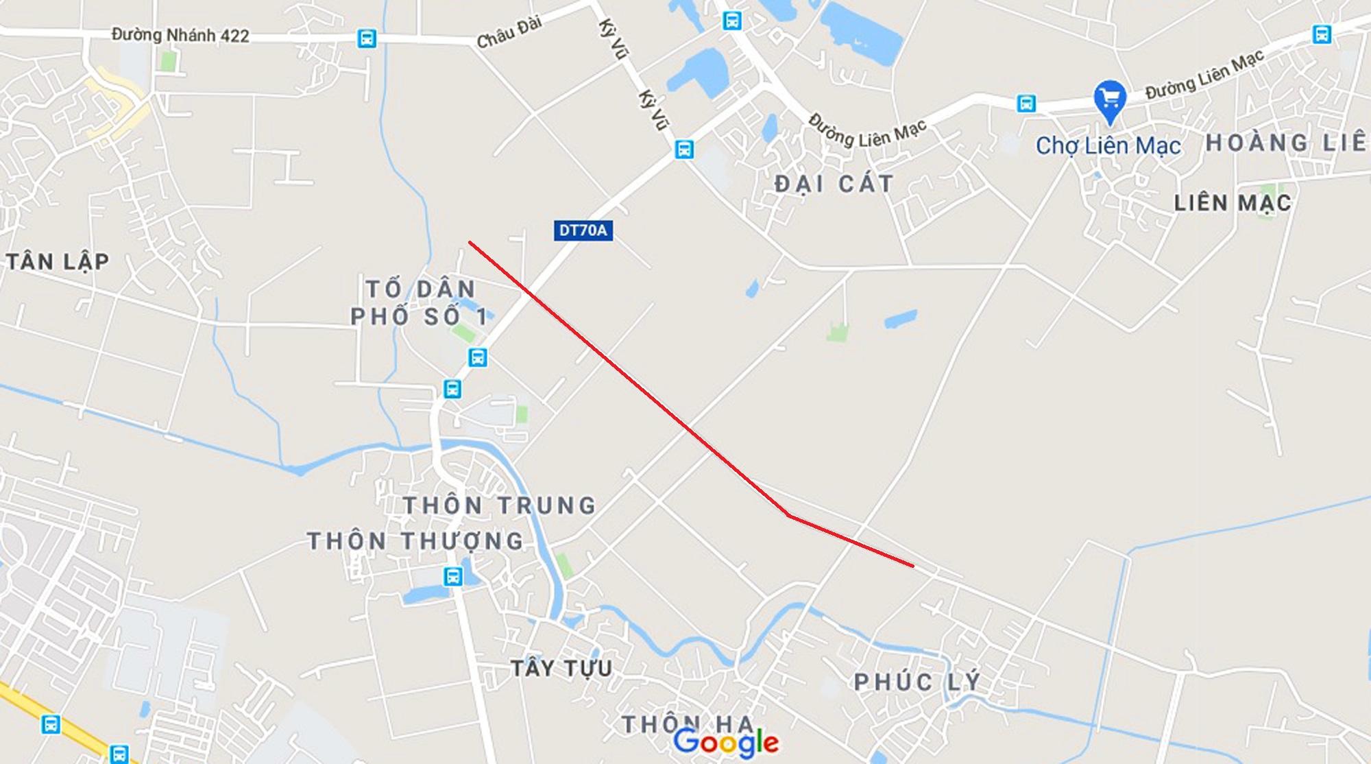 4 đường sẽ mở theo qui hoạch ở phường Tây Tựu, Bắc Từ Liêm - Ảnh 2.