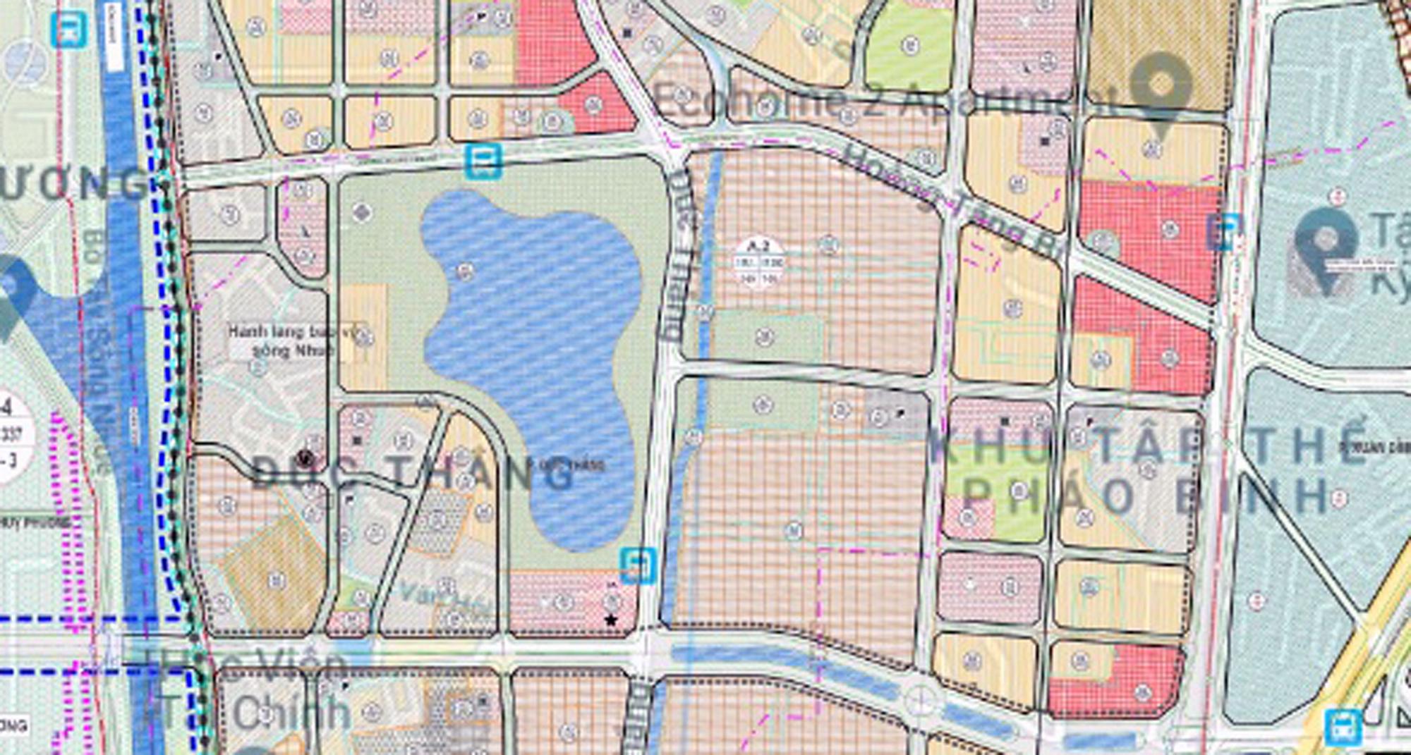 Những dự án chung cư gần các khu đất sẽ đào hồ lớn ở quận Bắc Từ Liêm - Ảnh 4.