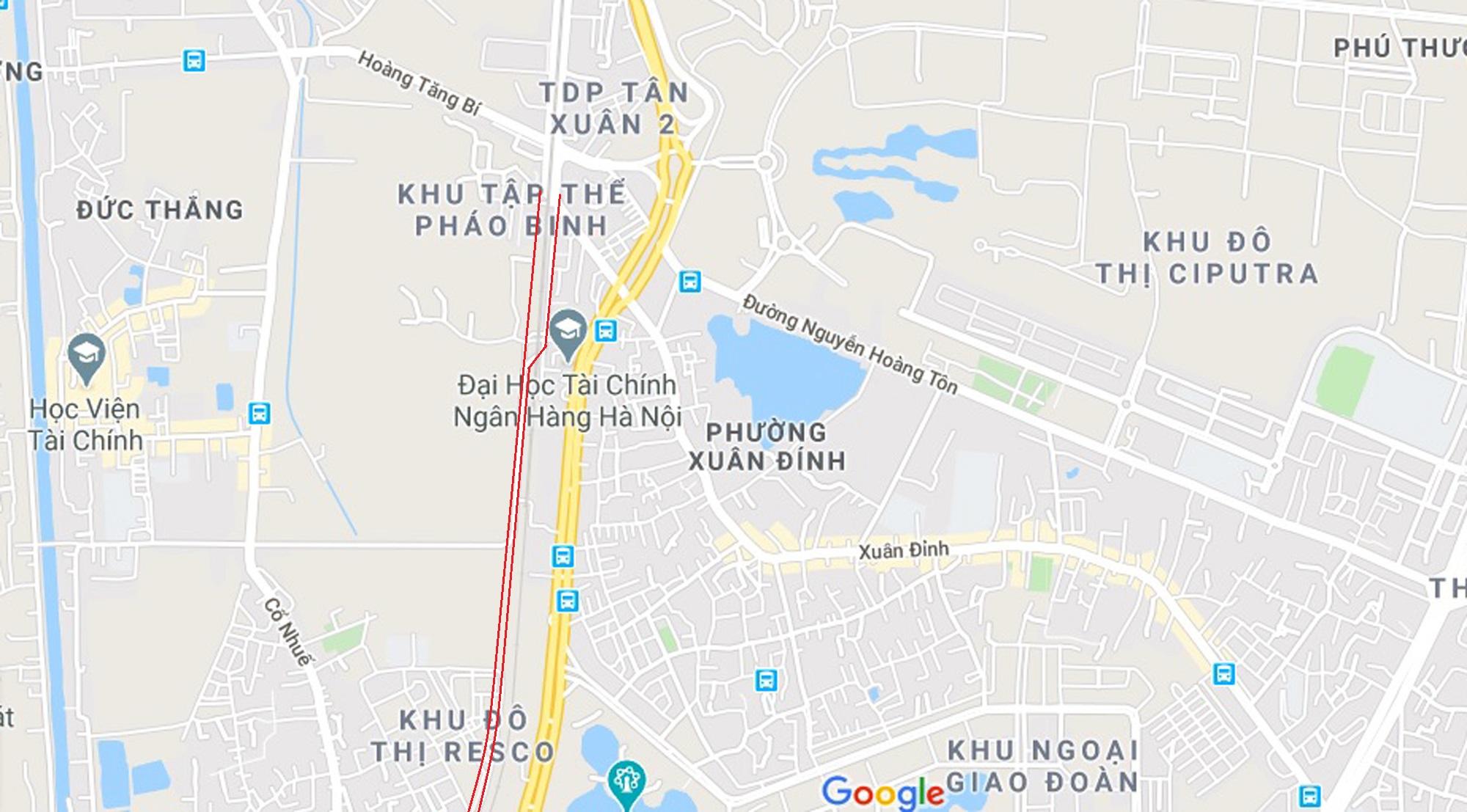 3 đường sẽ mở theo qui hoạch ở phường Xuân Đỉnh, Bắc Từ Liêm - Ảnh 9.