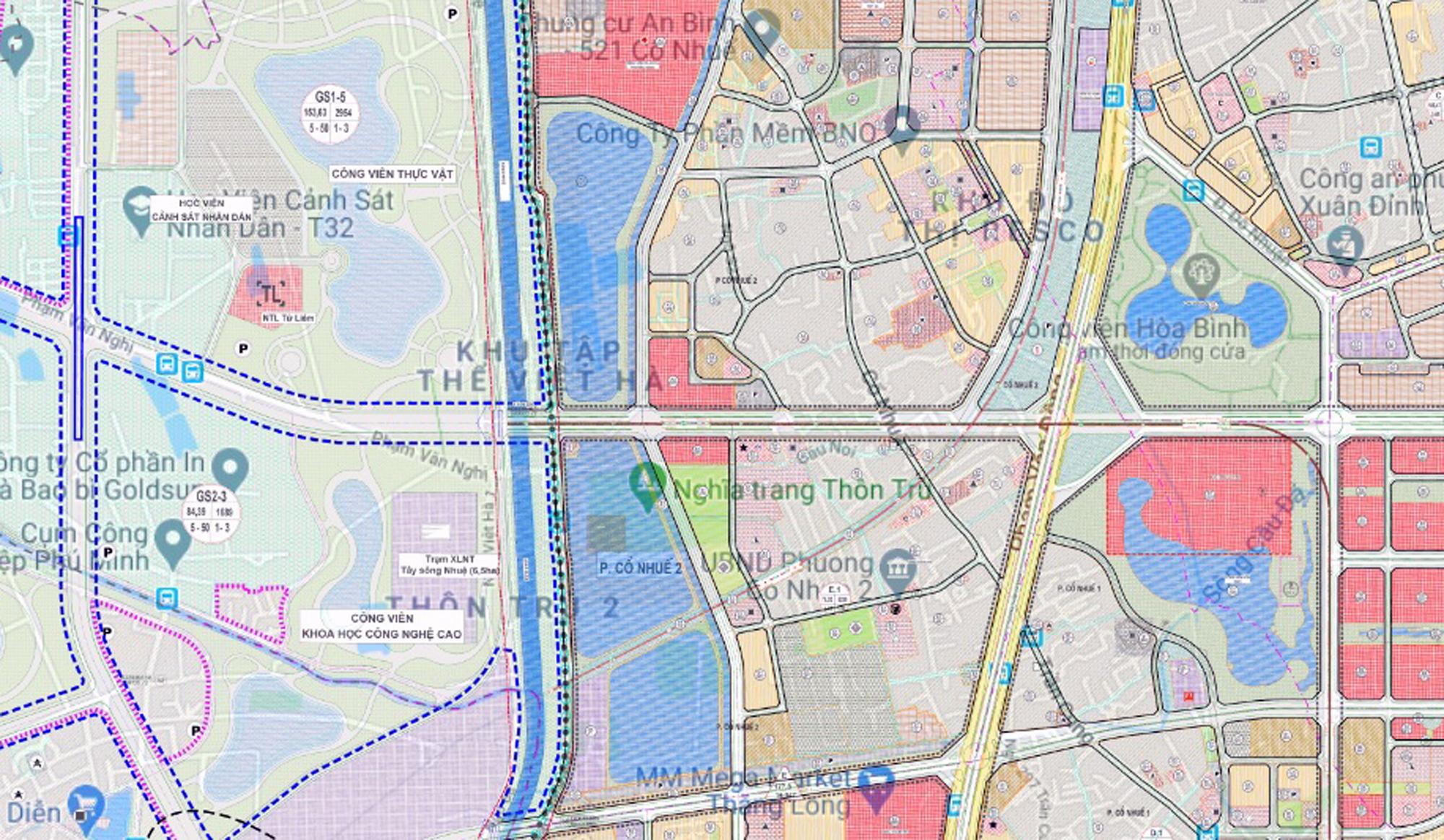 Những dự án chung cư gần các khu đất sẽ đào hồ lớn ở quận Bắc Từ Liêm - Ảnh 8.