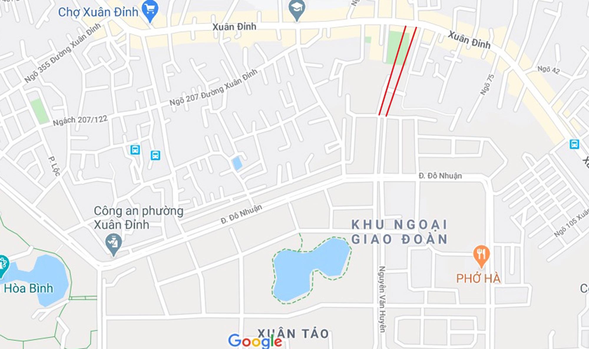 3 đường sẽ mở theo qui hoạch ở phường Xuân Đỉnh, Bắc Từ Liêm - Ảnh 13.