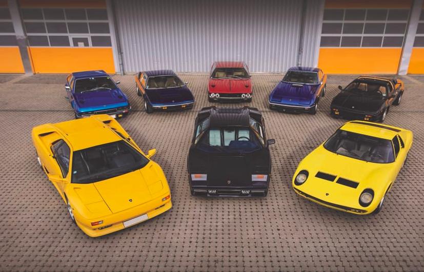 Chiêm ngưỡng 8 chiếc Lamborghini cực hiếm vừa được bán với giá 2 triệu USD - Ảnh 1.