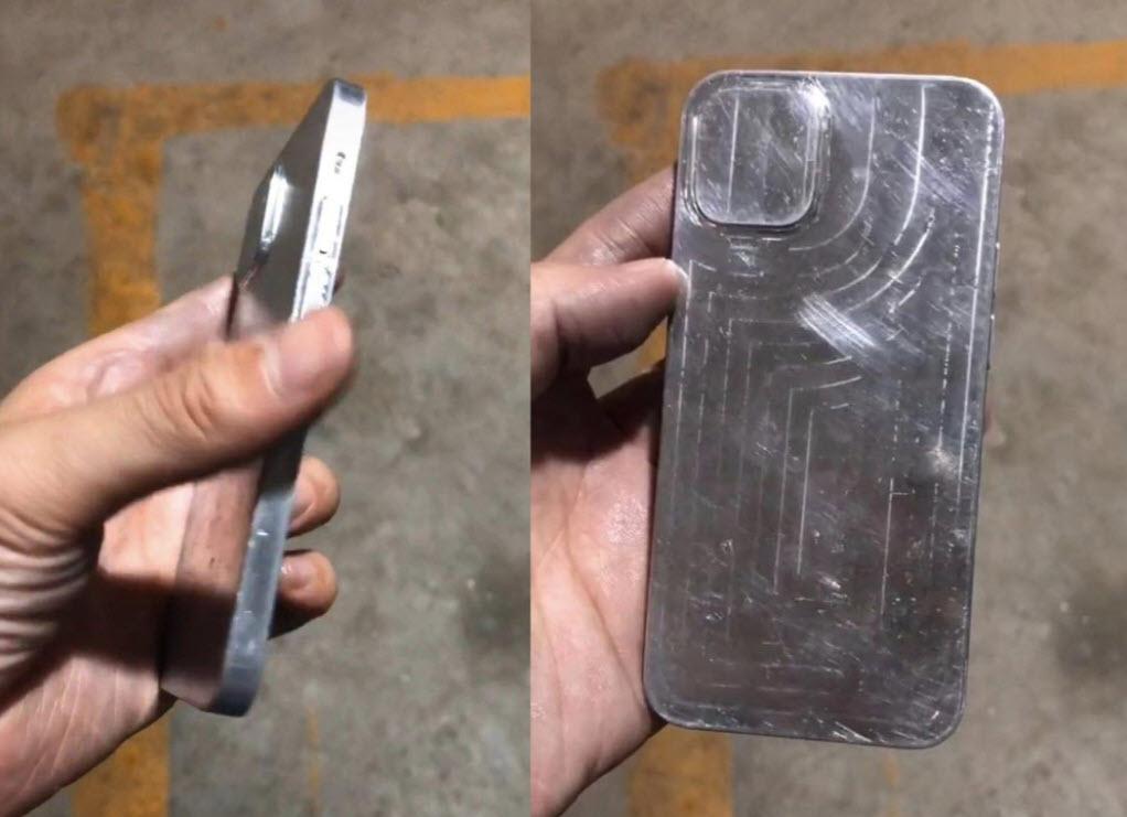 Rò rỉ khuôn mẫu iPhone 12 thiết kế cạnh phẳng, cụm camera không đổi - Ảnh 2.