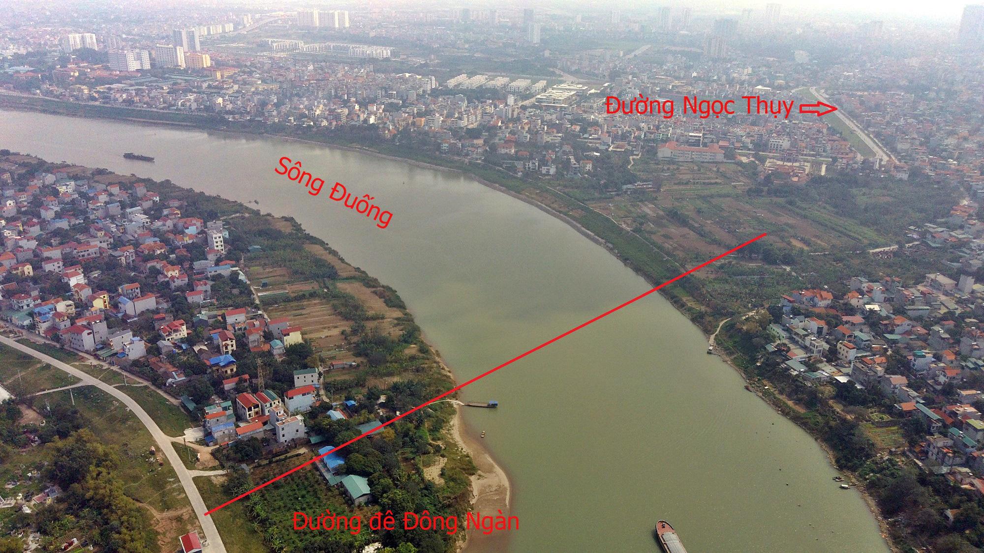 Cầu sẽ mở theo qui hoạch: Toàn cảnh cầu Tứ Liên nối hồ Tây với Đông Anh - Ảnh 9.