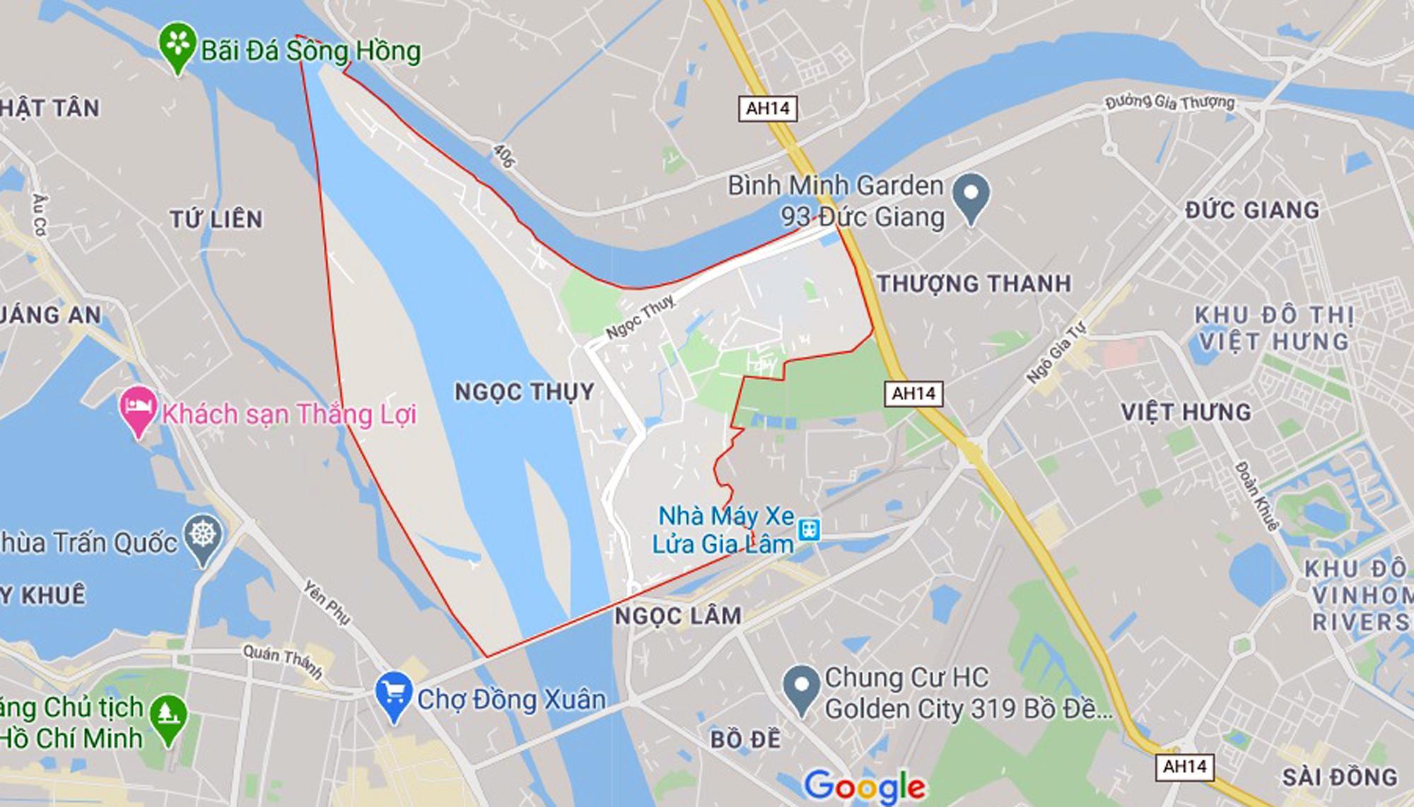 đường sẽ mở theo qui hoạch ở phường Ngọc Thụy, Long Biên, Hà Nội - Ảnh 1.