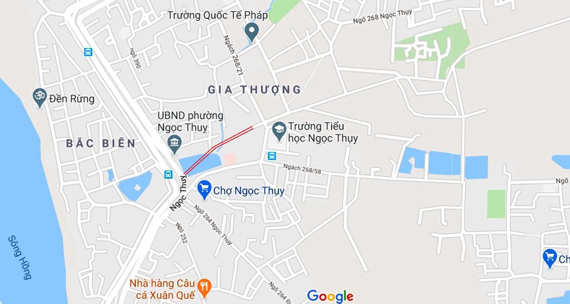đường sẽ mở theo qui hoạch ở phường Ngọc Thụy, Long Biên, Hà Nội - Ảnh 2.
