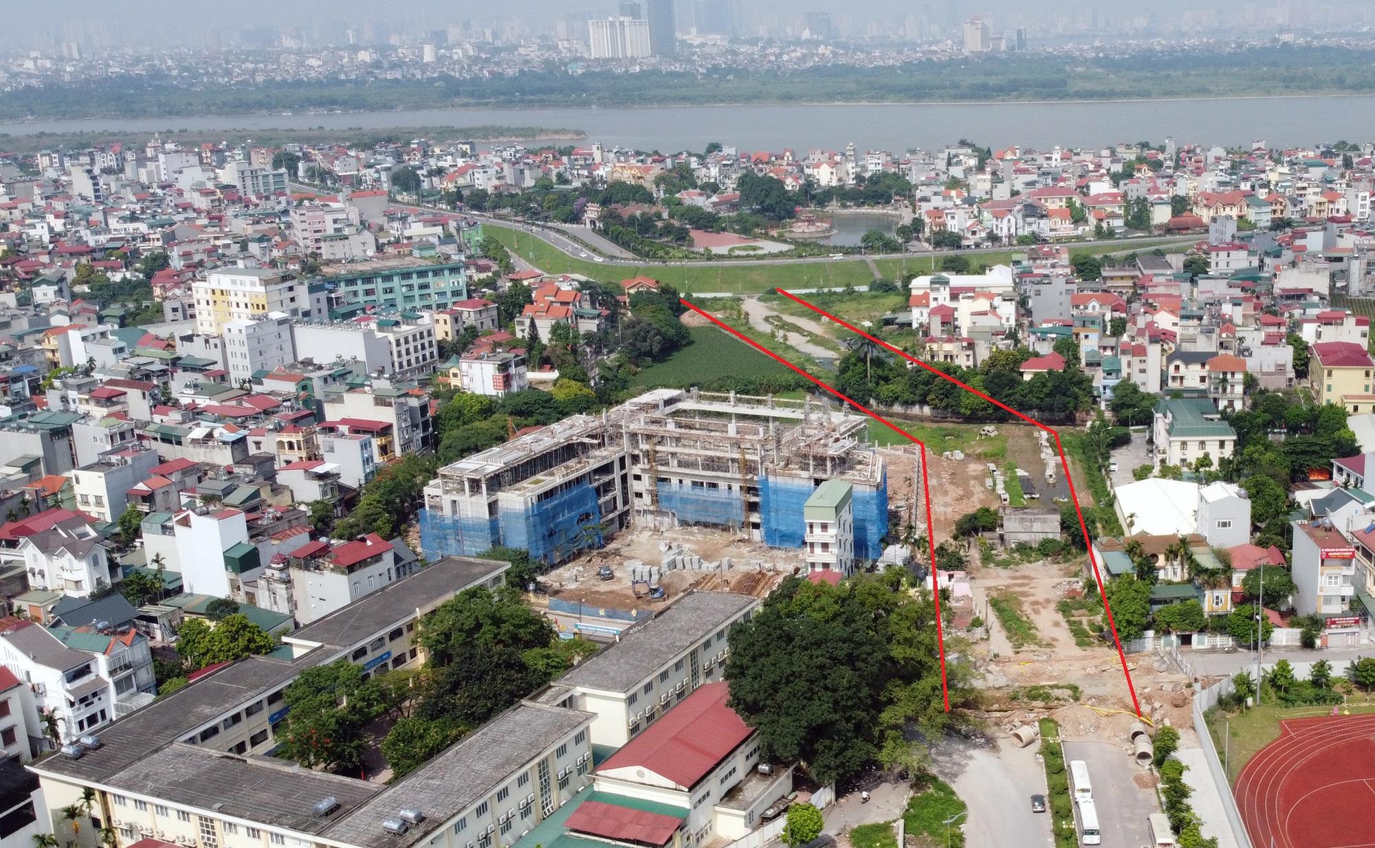 đường sẽ mở theo qui hoạch ở phường Ngọc Thụy, Long Biên, Hà Nội - Ảnh 4.