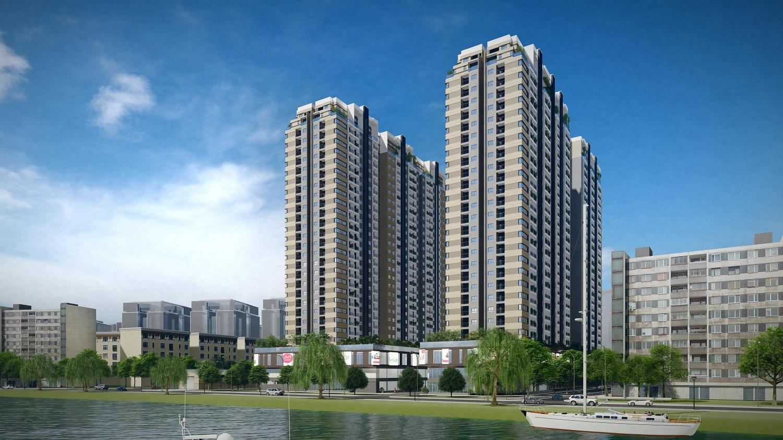 LDG nhận chuyển nhượng lại từ QCG dự án Sông Đà Riverside tại Thủ Đức - Ảnh 1.