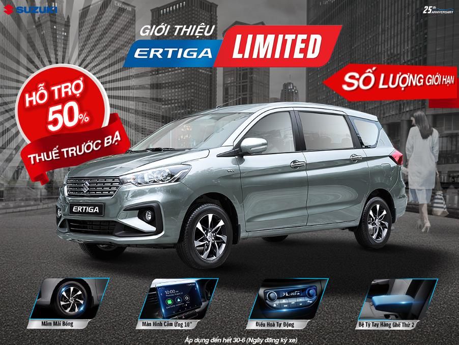 Cơ hội vàng mua ô tô Suzuki nhập khẩu nhận ngay hỗ trợ lệ phí trước bạ trong tháng 6 - Ảnh 1.
