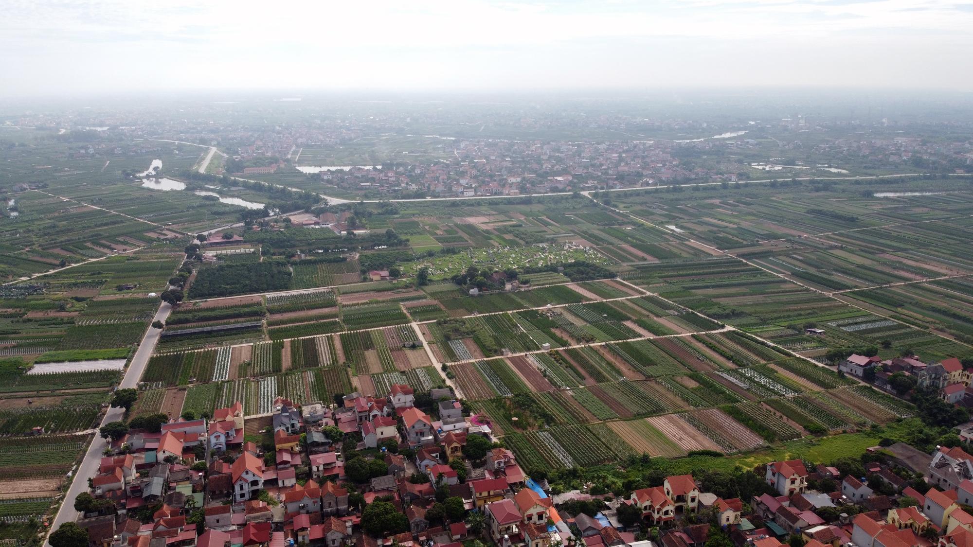 Cầu sẽ mở theo qui hoạch ở Hà Nội: Toàn cảnh vị trí làm cầu Mễ Sở nối Văn Giang - Thường Tín - Ảnh 12.
