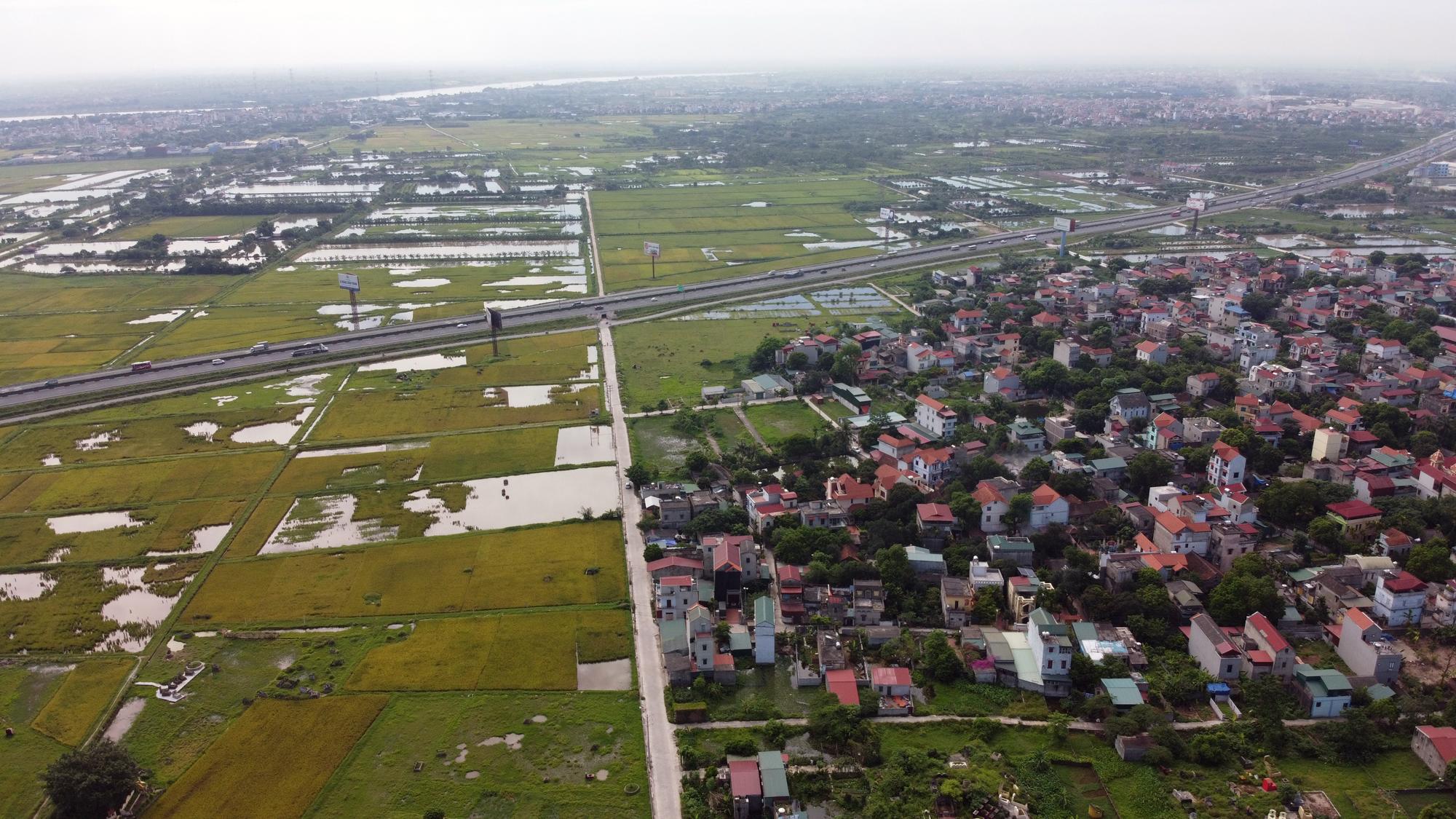 Cầu sẽ mở theo qui hoạch ở Hà Nội: Toàn cảnh vị trí làm cầu Mễ Sở nối Văn Giang - Thường Tín - Ảnh 13.