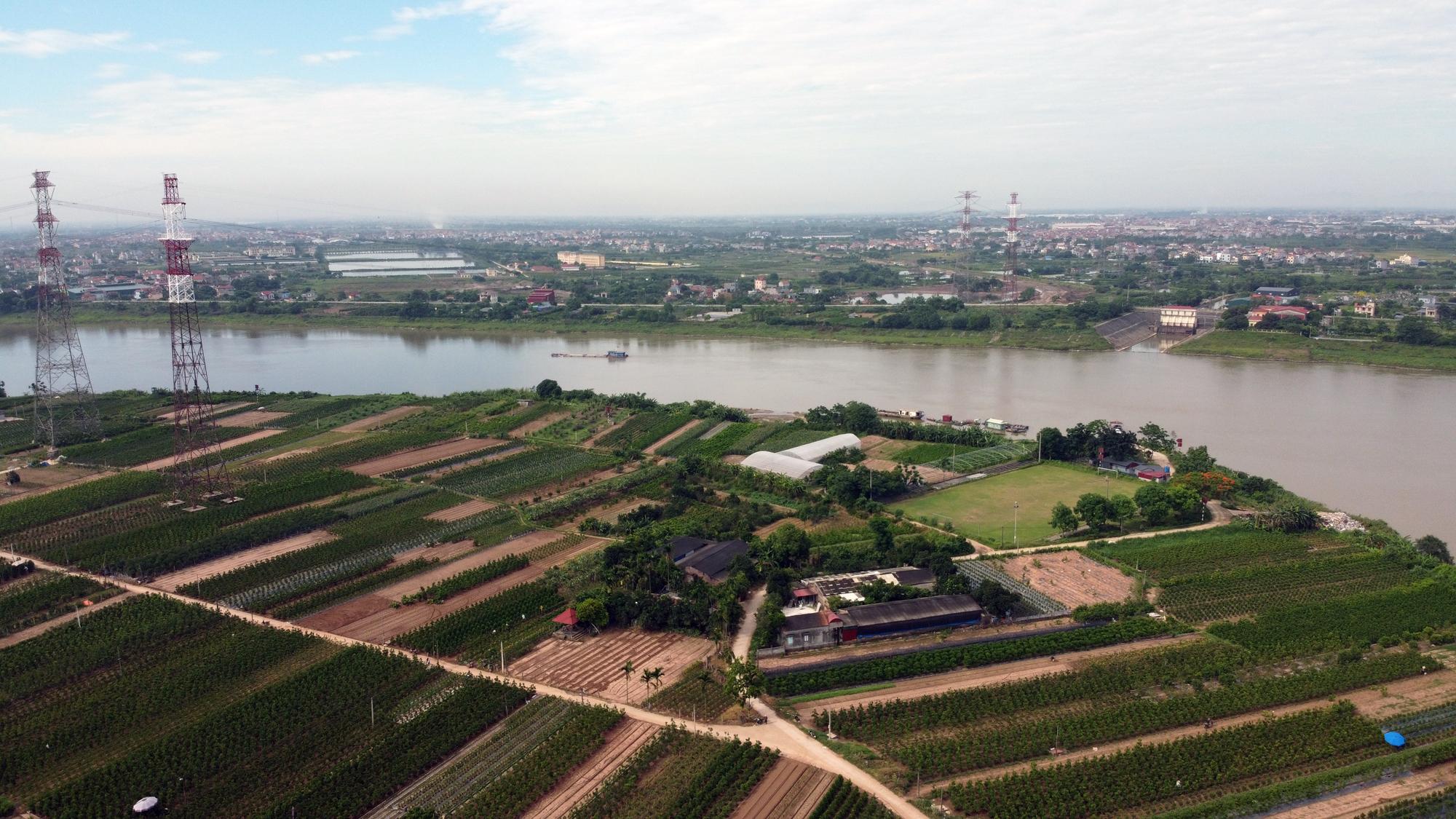 Cầu sẽ mở theo qui hoạch ở Hà Nội: Toàn cảnh vị trí làm cầu Mễ Sở nối Văn Giang - Thường Tín - Ảnh 8.