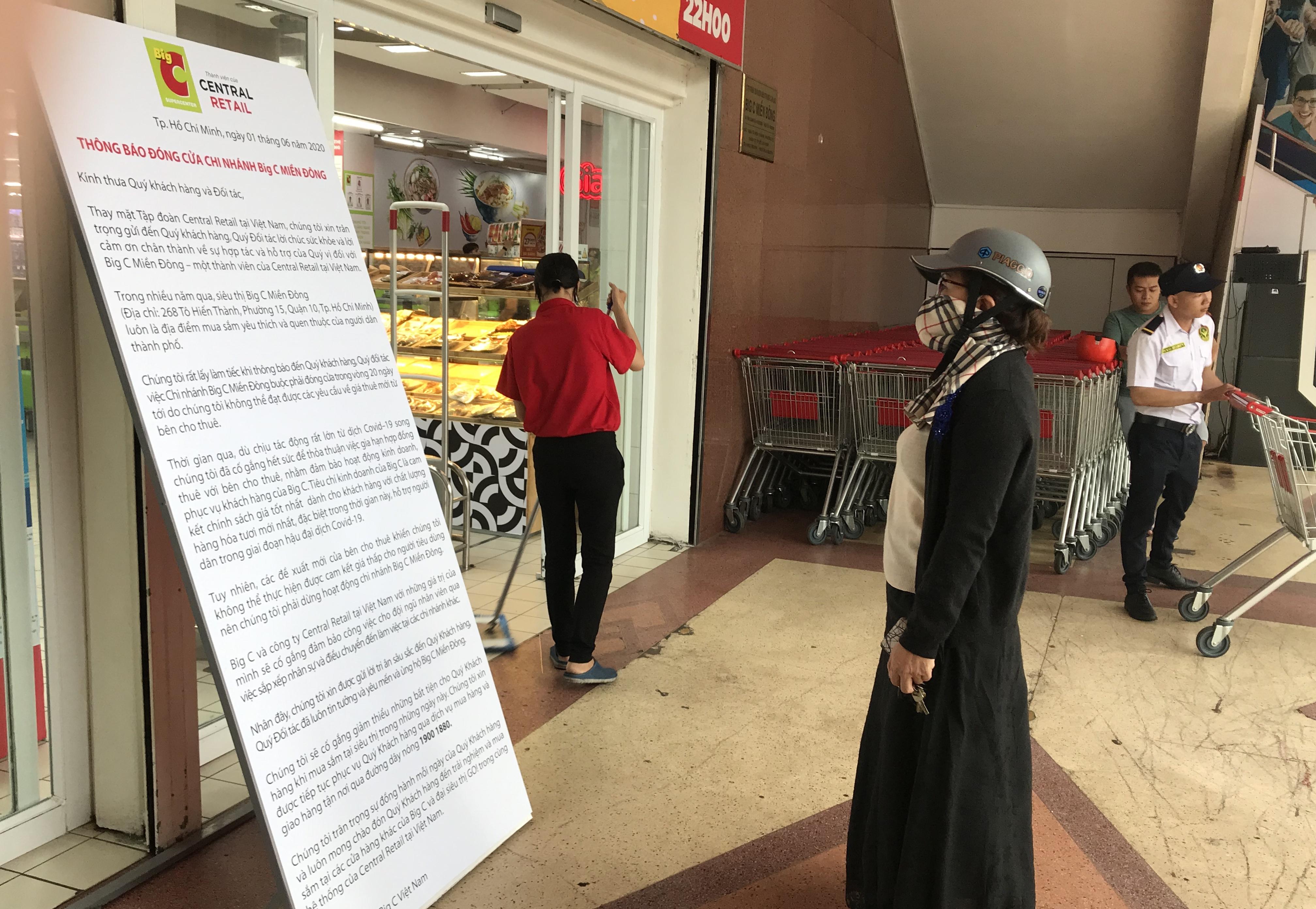 Big C miền Đông bất ngờ thông báo đóng cửa, người tiêu dùng sững sờ, siêu thị vắng lặng chiều nay - Ảnh 14.