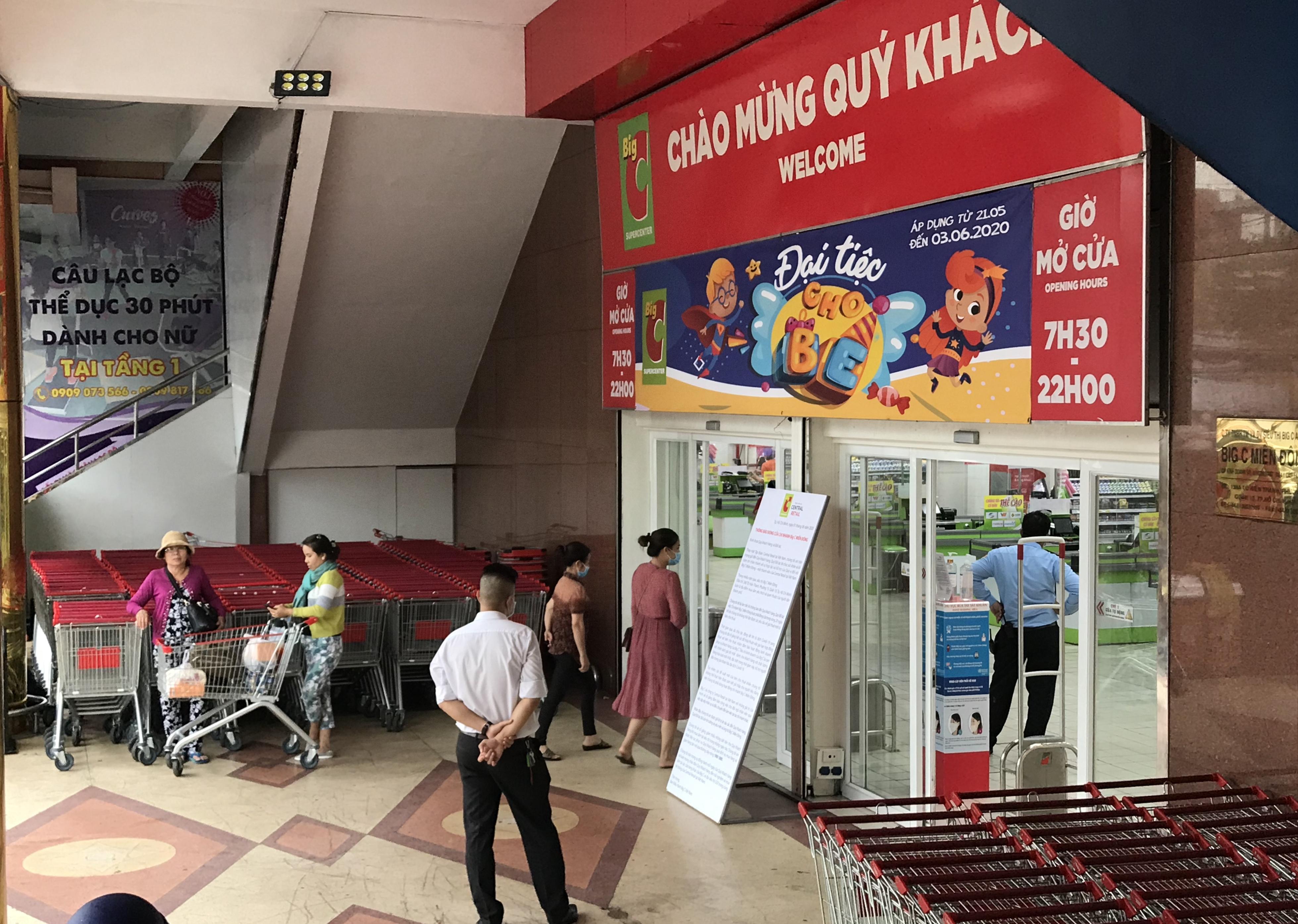 Big C miền Đông bất ngờ thông báo đóng cửa, người tiêu dùng sững sờ, siêu thị vắng lặng chiều nay - Ảnh 4.