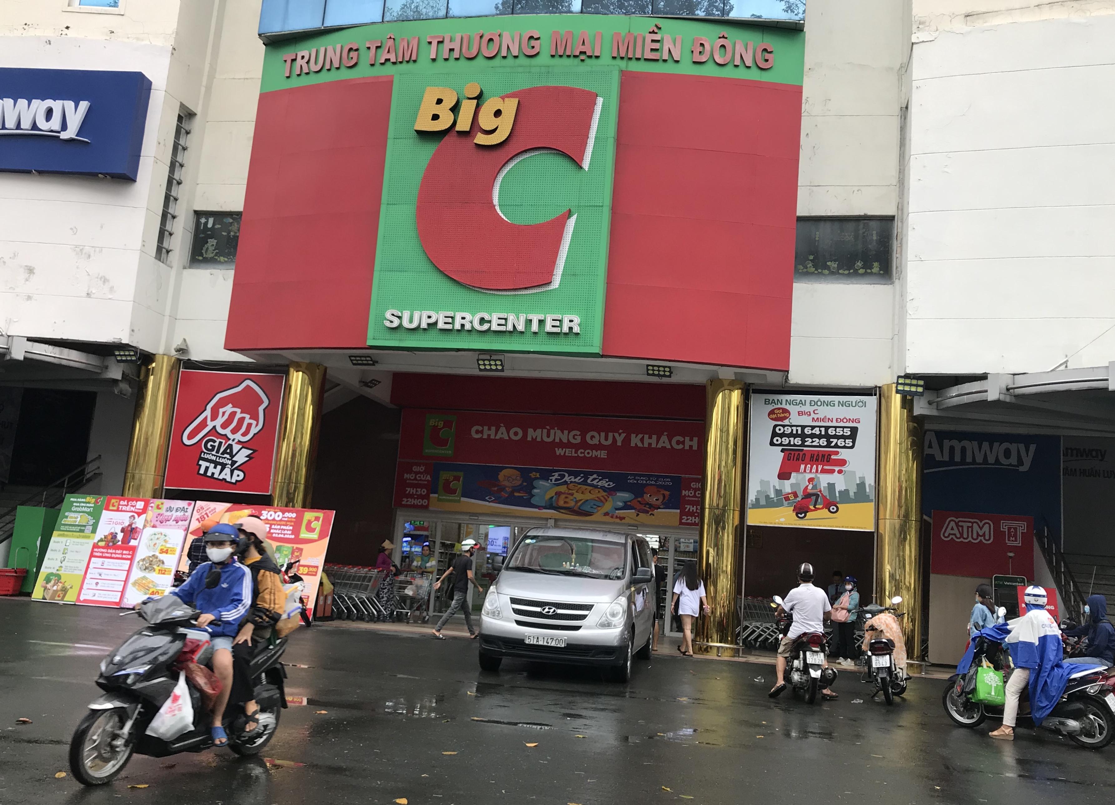 Big C miền Đông bất ngờ thông báo đóng cửa, người tiêu dùng sững sờ, siêu thị vắng lặng chiều nay - Ảnh 1.