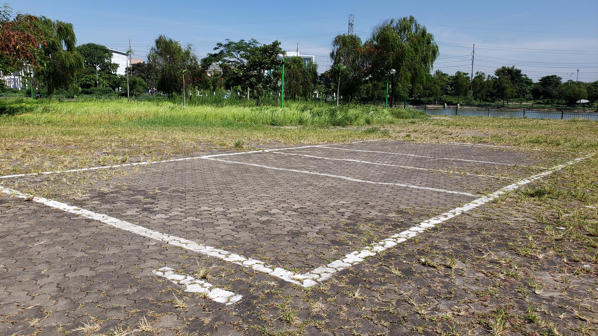 Chờ dự án cải tạo, công viên CV-02 Khu đô thị mới Việt Hưng như cánh đồng hoang - Ảnh 11.